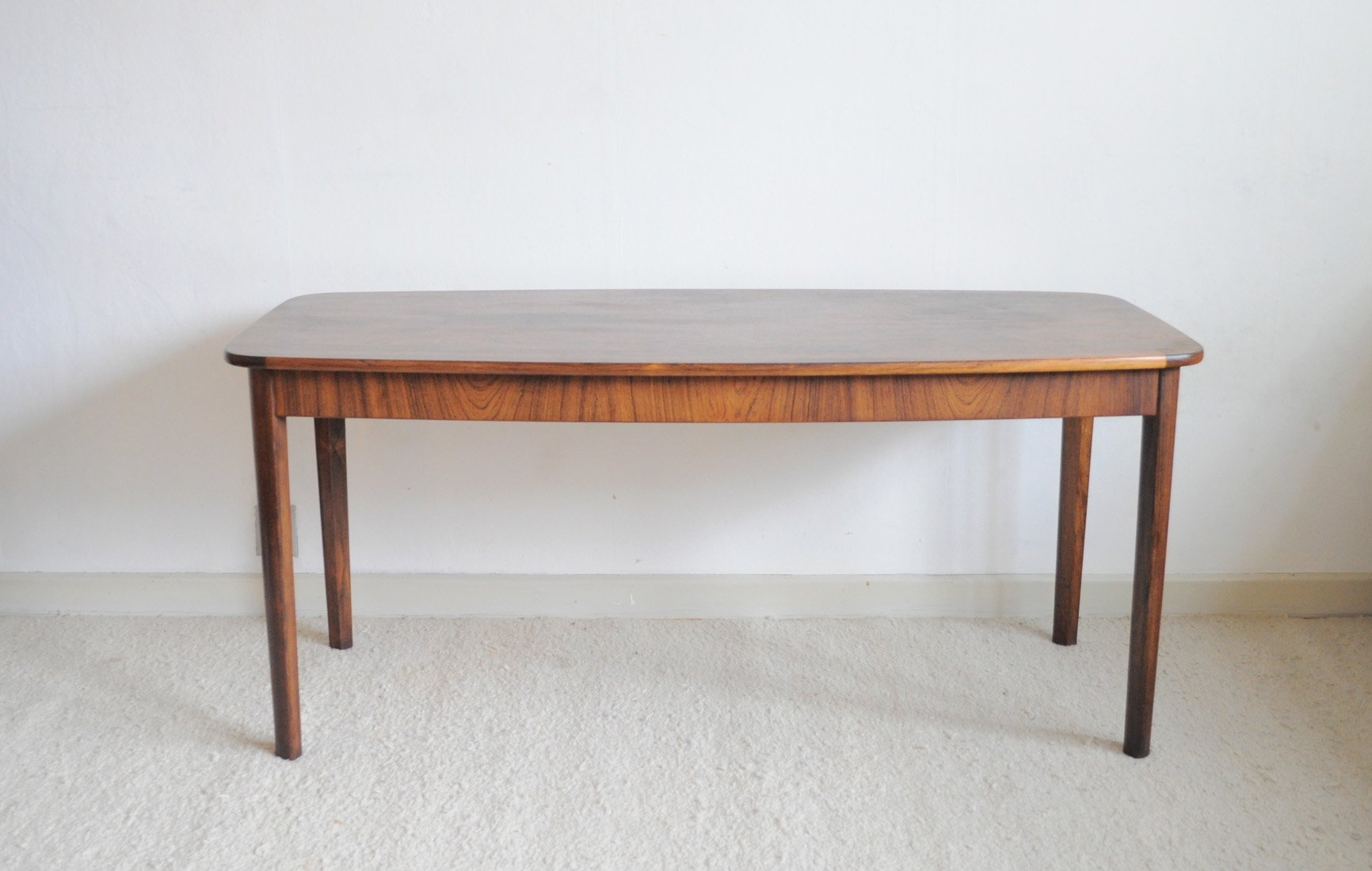Mid century modern danish rosewood side table