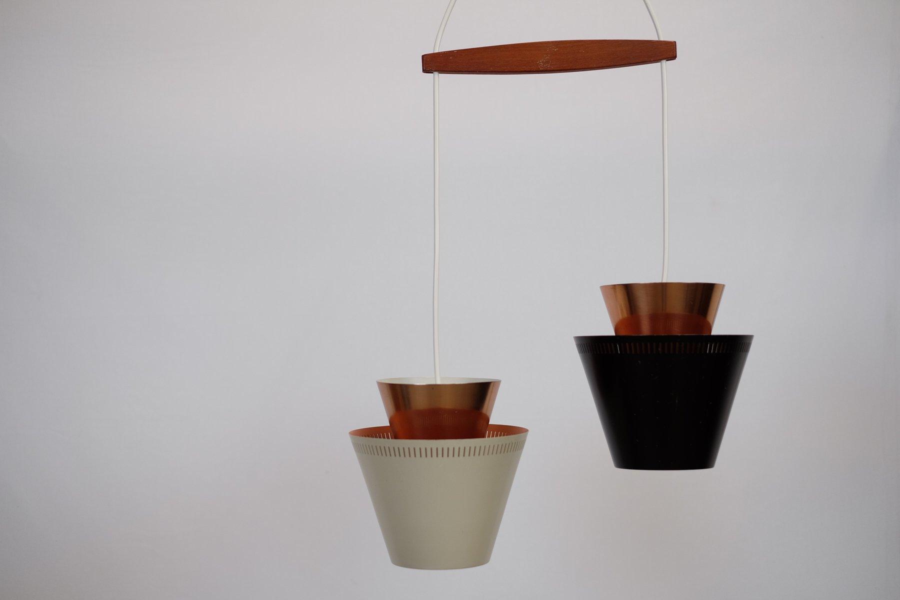 Vintage 2-in-1 Lampe von Johannes Hammerborg für Fog und Mørup