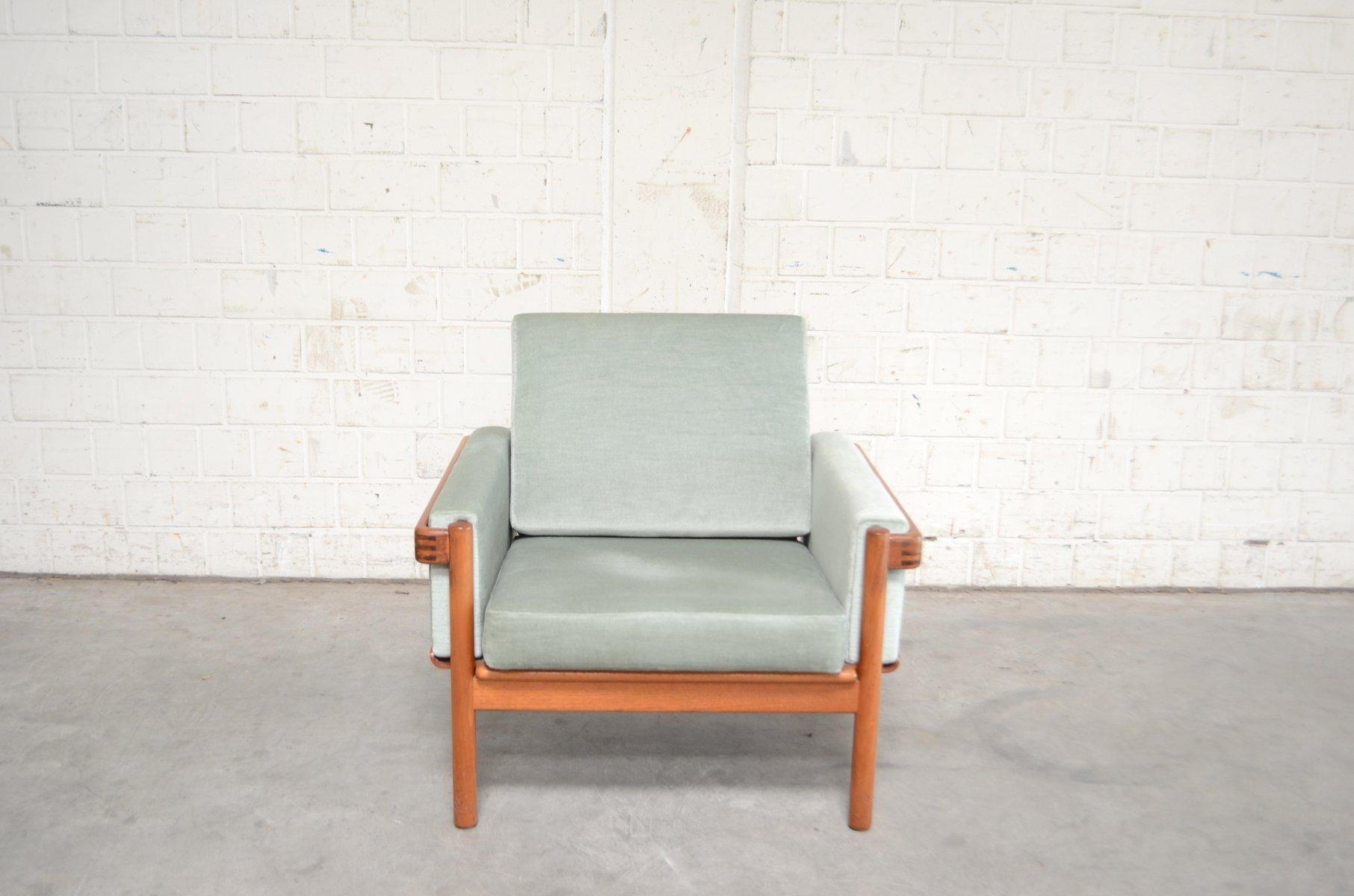 Grüner Sessel Von H. W. Klein Für Bramin, 1960er