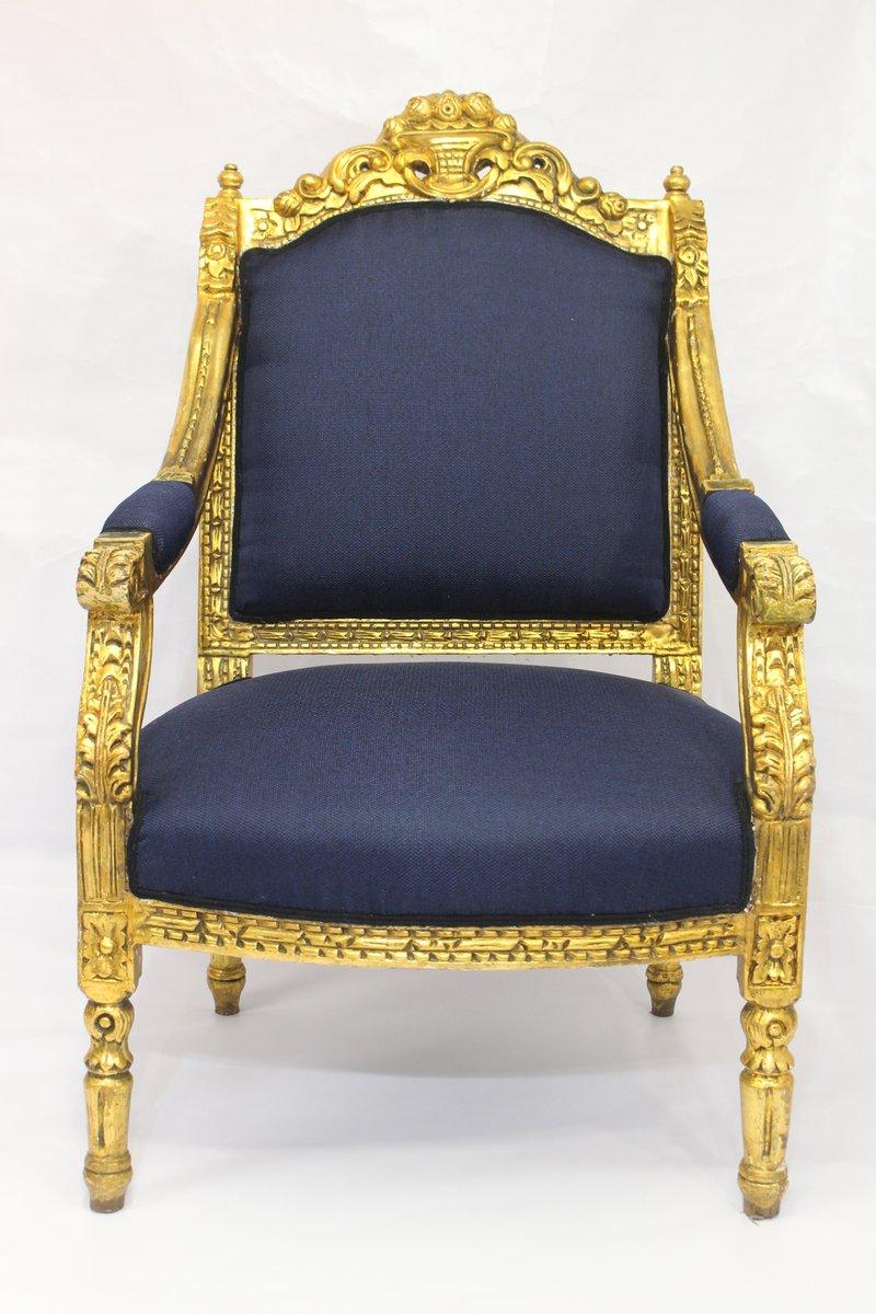 Poltrona antica Luigi XVI in vendita su Pamono