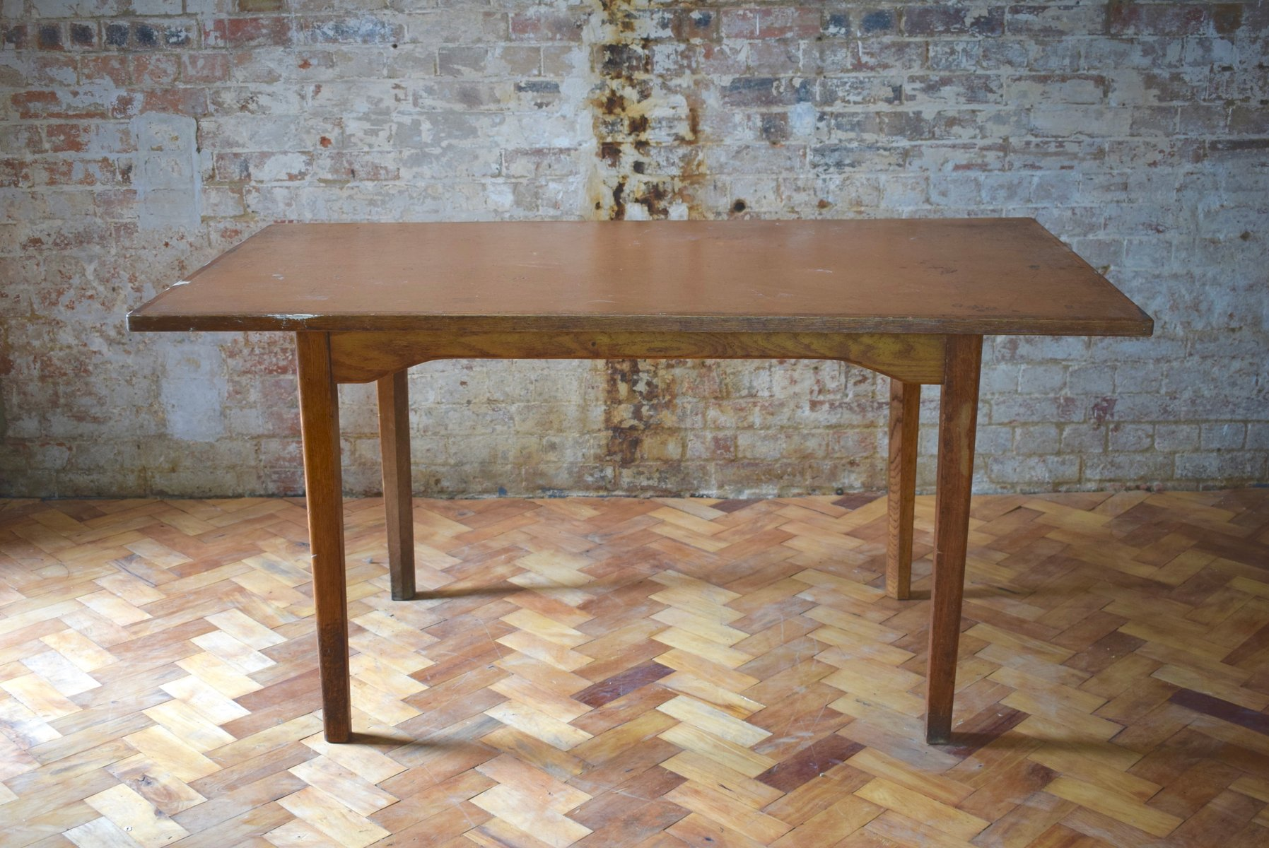 MidCentury Oak Dining Table From MOD For Sale At Pamono - Mid century oak dining table