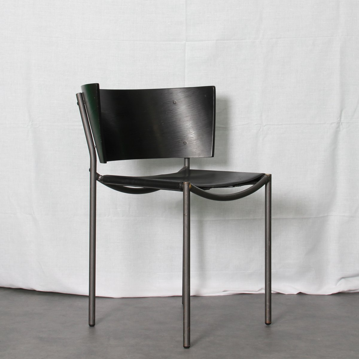 Lilla Hunter Stackable Chairs By Philippe Starck For XO, 1988, Set Of 2