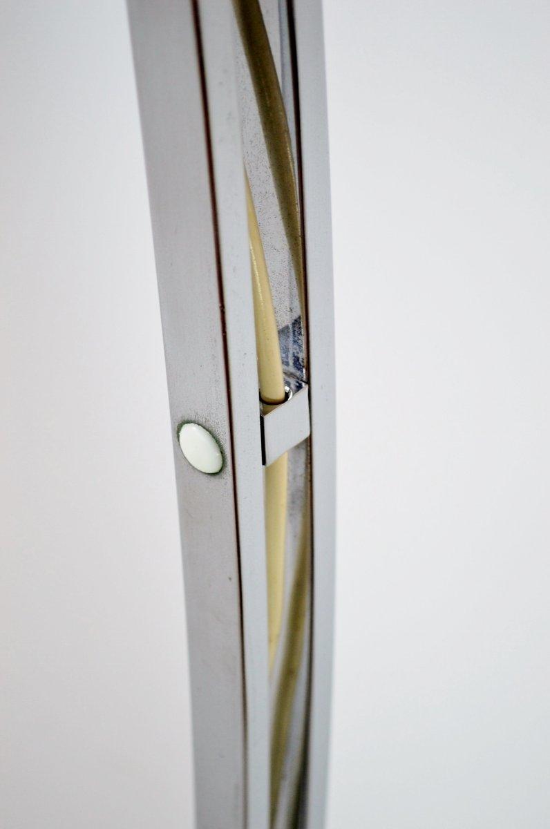 magnetische verchromte italienische stehlampe von reggiani 1970er bei pamono kaufen. Black Bedroom Furniture Sets. Home Design Ideas