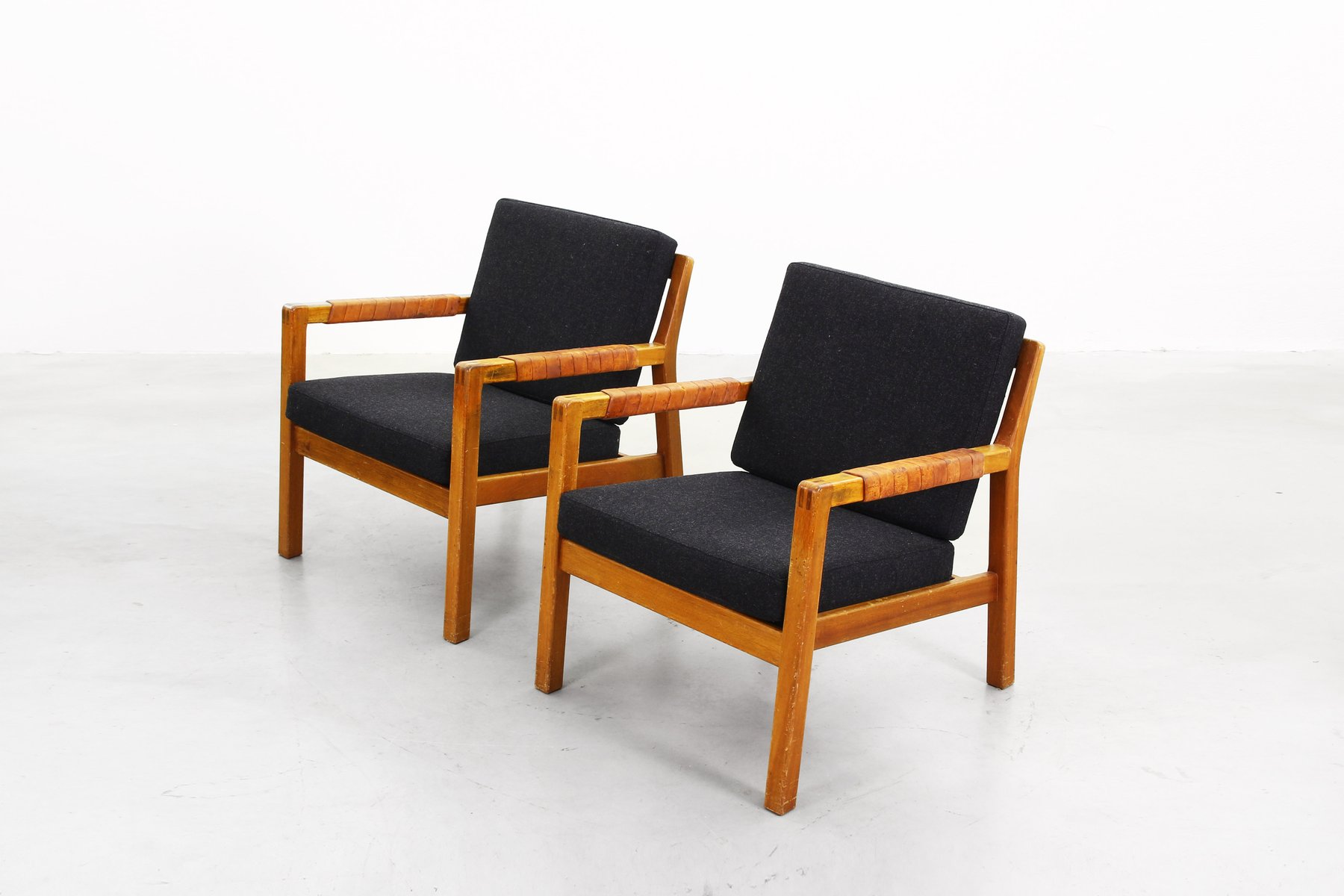 Finnische Sessel von Carl Gustaf Hiort af Örnas, 1960er, 2er Set