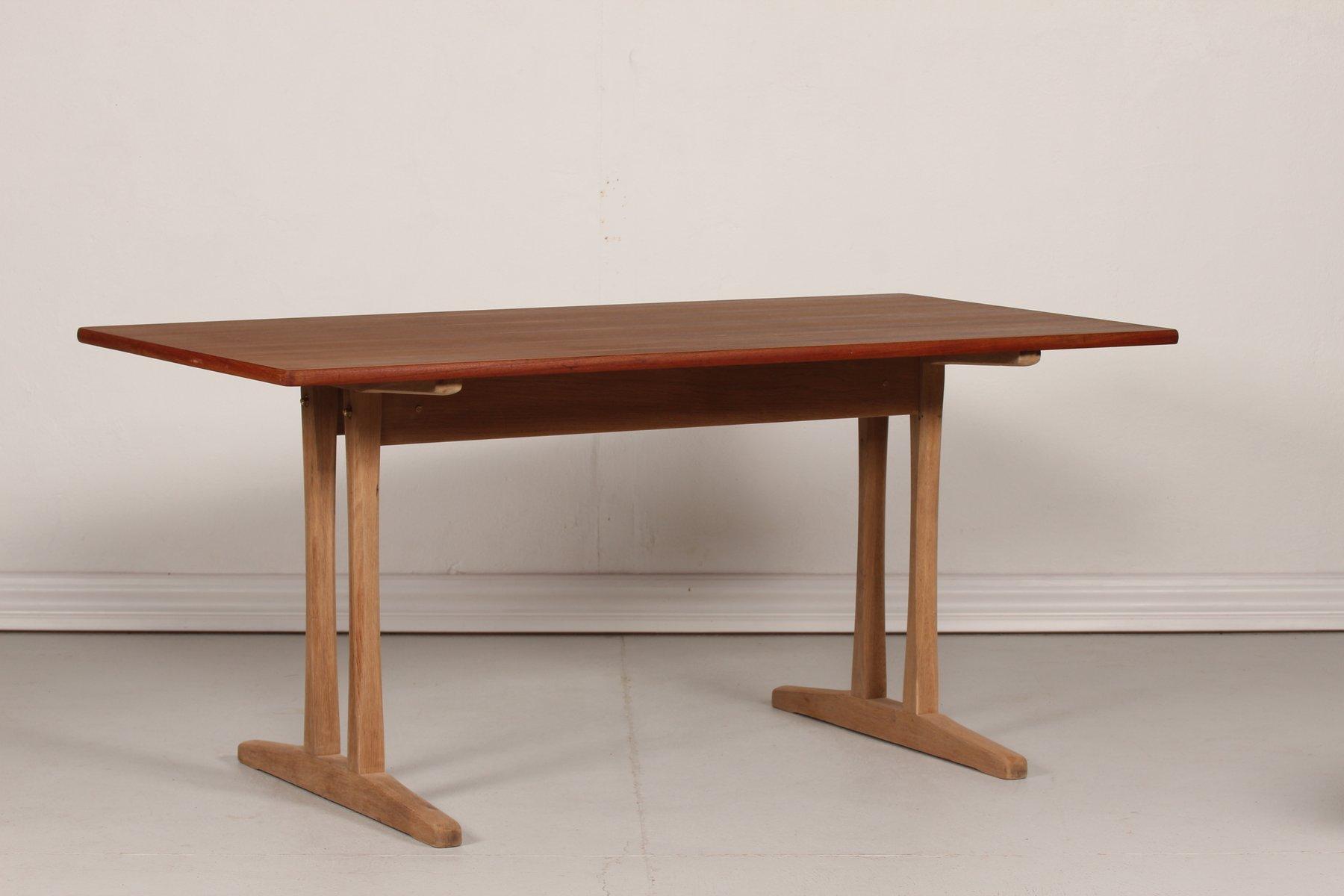 Dänischer Vintage Esszimmertisch von Børge Mogensen für FDB, 1950er