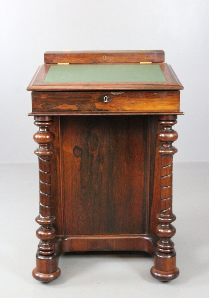 Antique Rosewood Davenport - Antique Rosewood Davenport For Sale At Pamono