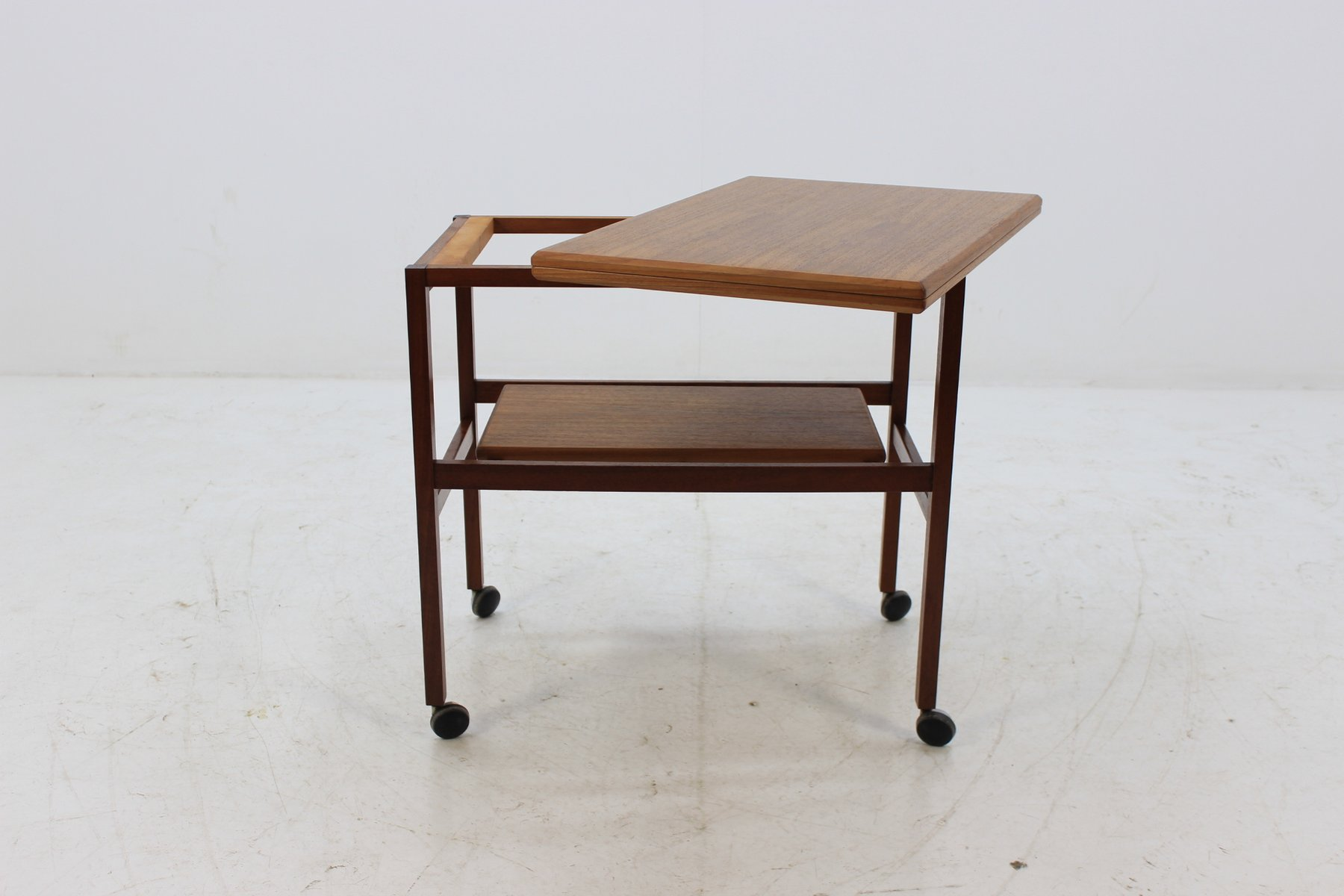 From With Danish Teak Bar Møbler1960s Trolley Expandable Top Arrebo jGzLqMSUVp
