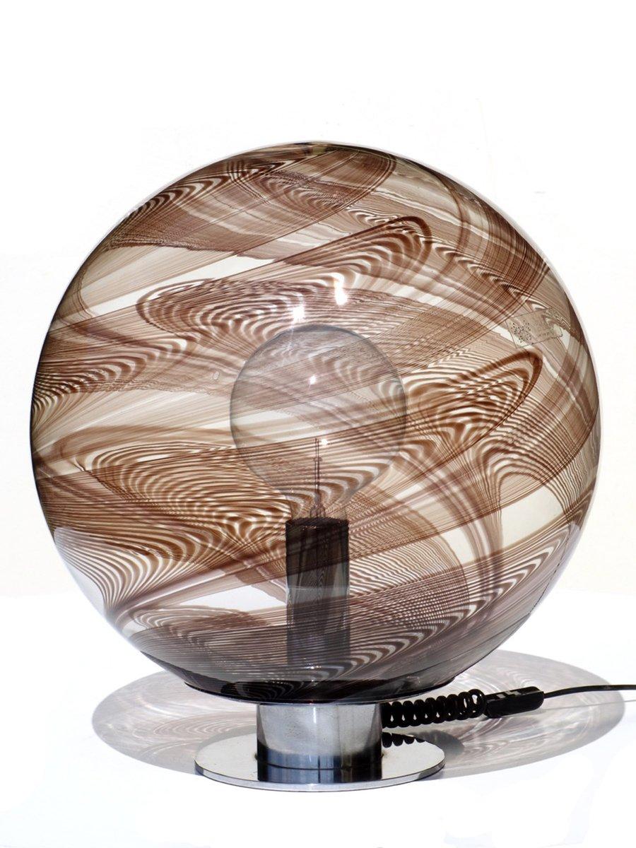 Tischlampe aus Glas von Lino Tagliapietra, 1960er
