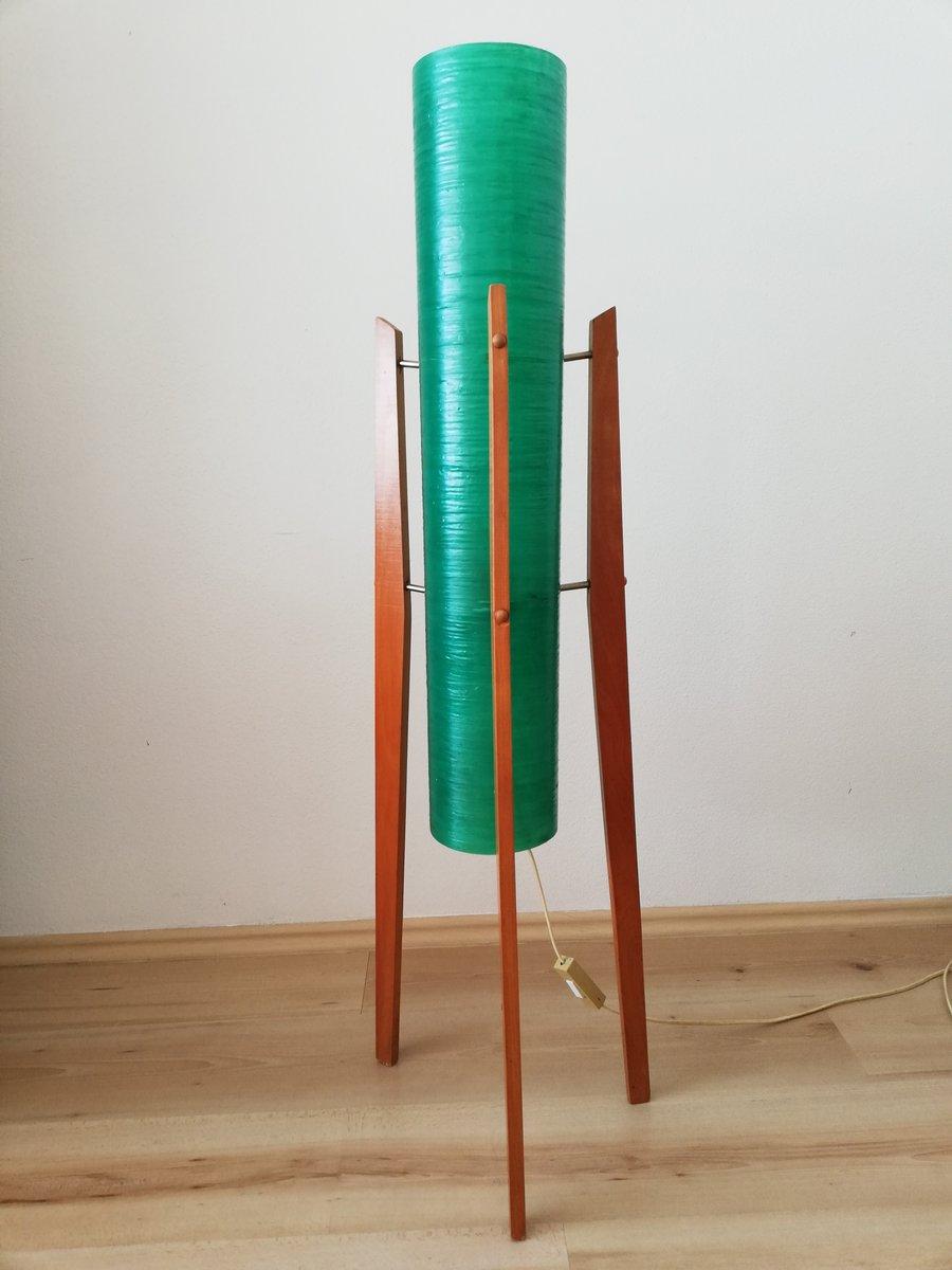 Vintage Czechoslovakian Rocket Floor Lamp From Novoplast