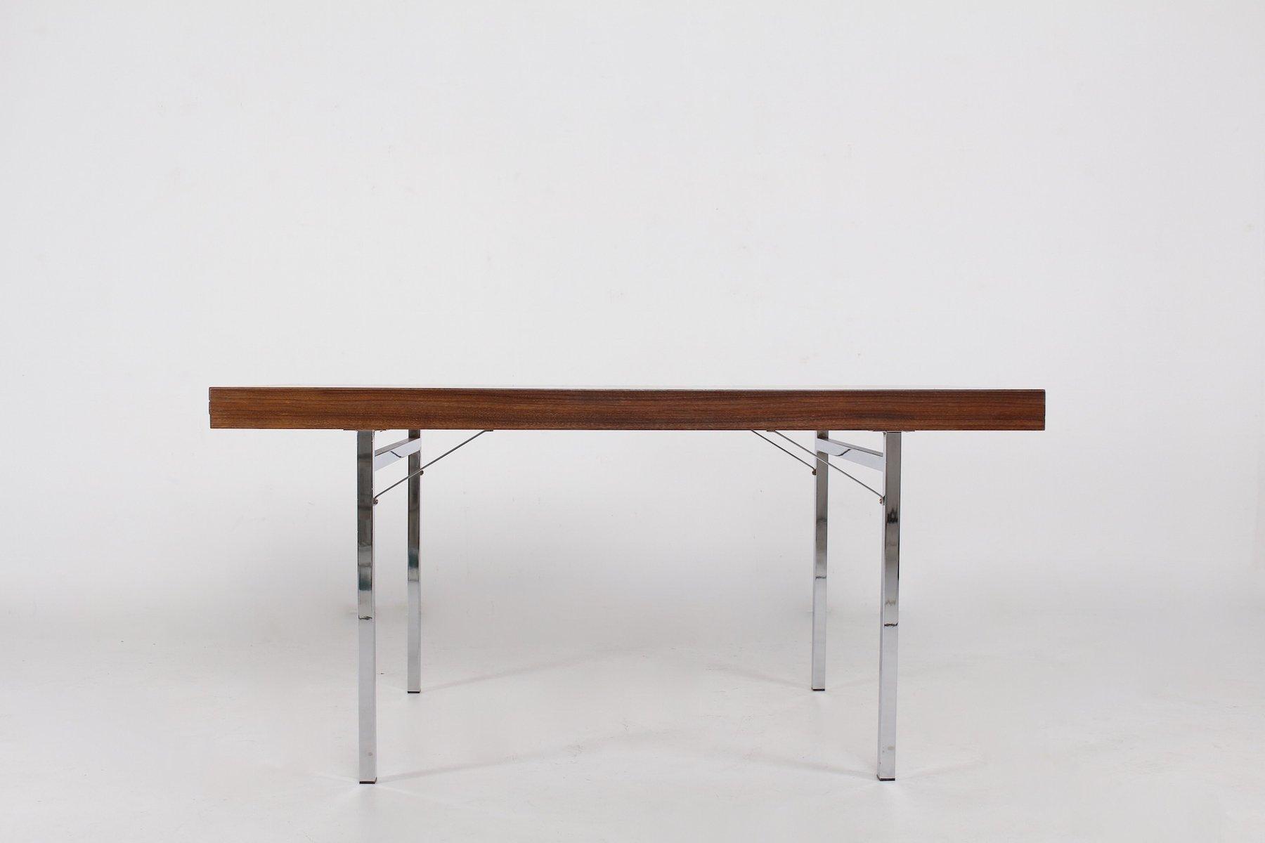 Ausziehbarer Tisch aus Palisander von Pieter de Bruyne für AL Meubel, ...