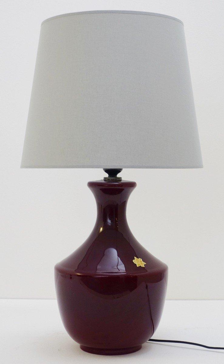 Italienische Vintage Tischlampe aus Muranoglas