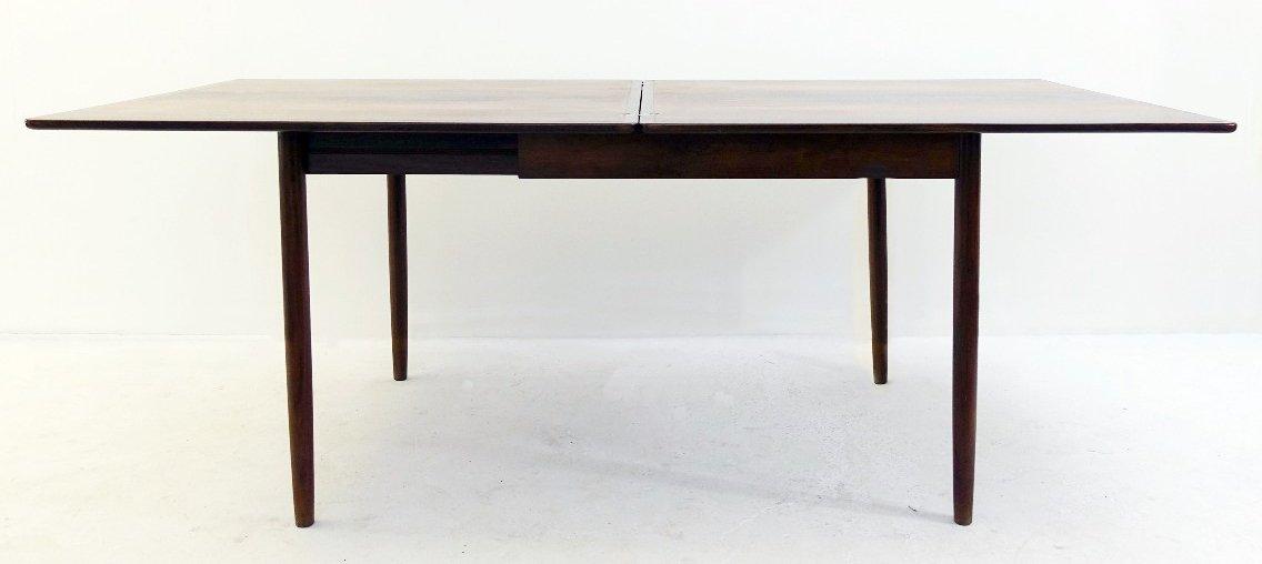 Ausziehbarer Vintage Tisch aus Palisander