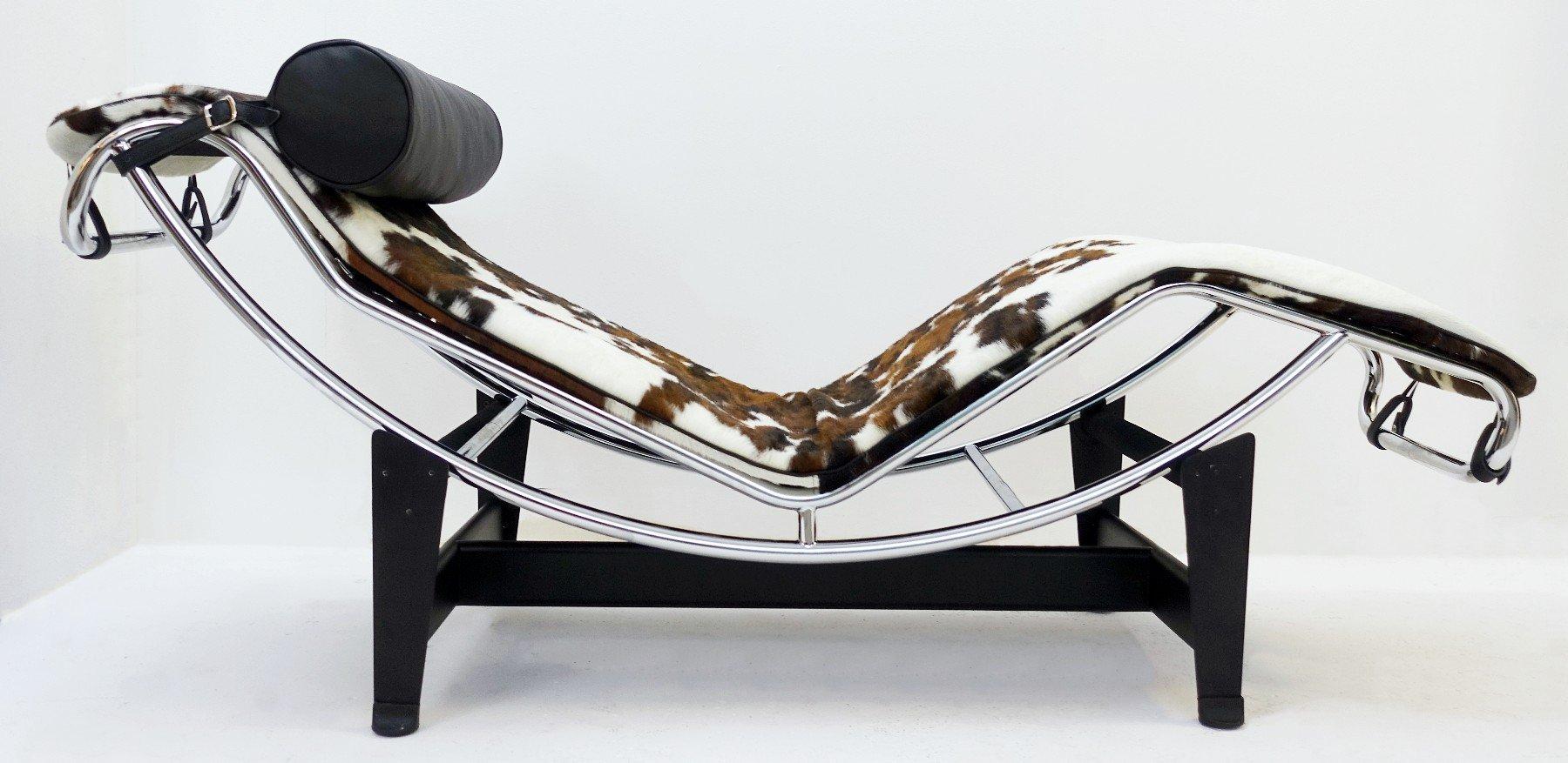 Vintage LC4 Sessel von Le Corbusier
