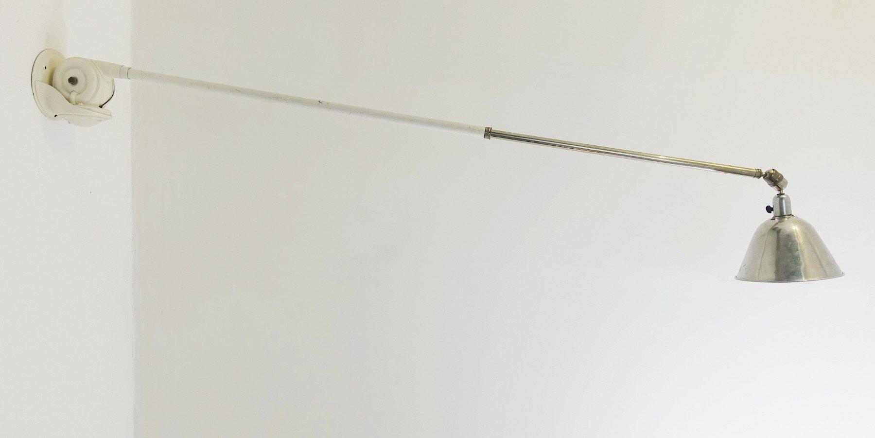 Triplex Teleskop-Wandlampe von Johan Petter Johansson für ASEA, 1930er
