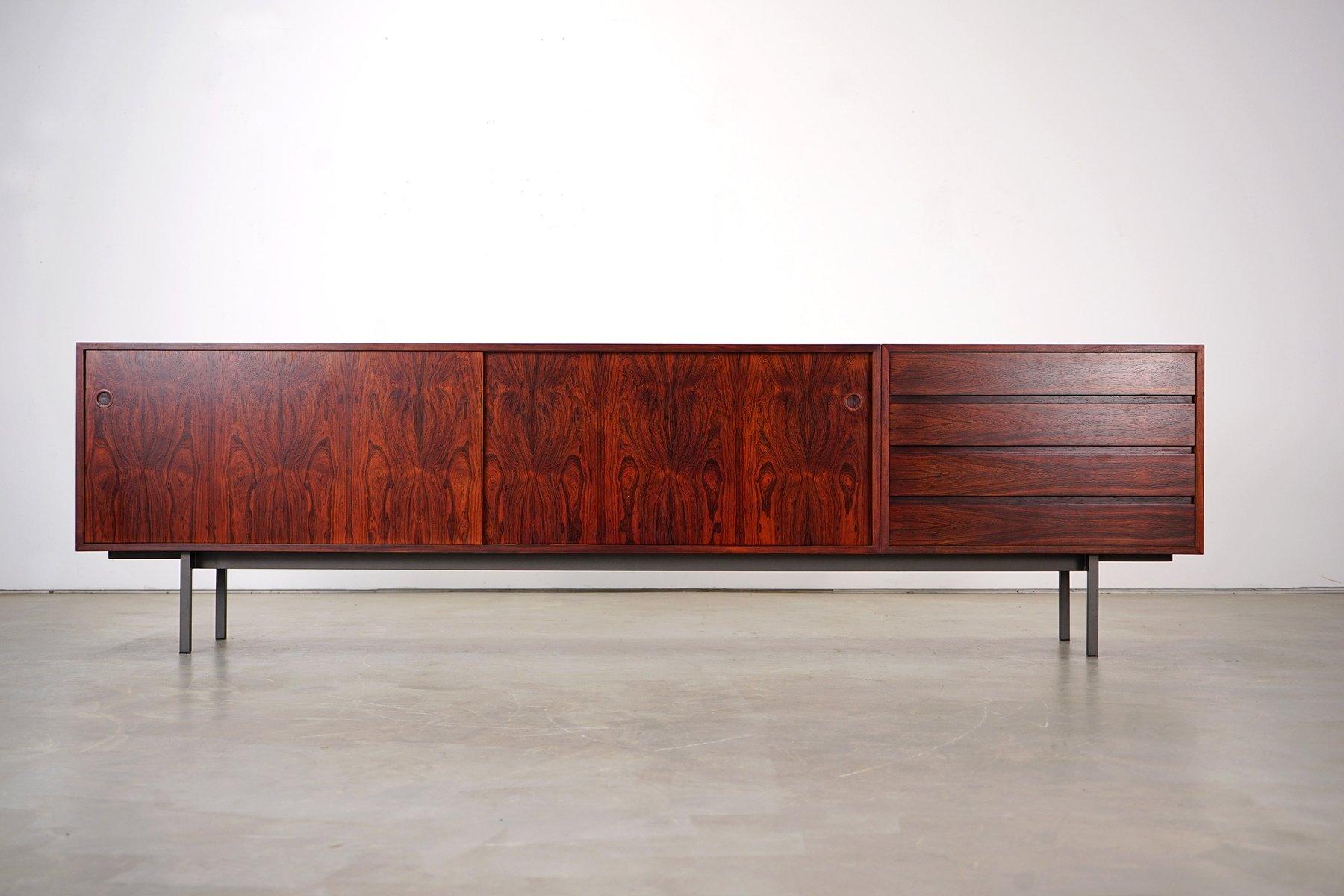 gro es sideboard aus palisander von walter wirtz f r wilhelm renz 1960er bei pamono kaufen. Black Bedroom Furniture Sets. Home Design Ideas