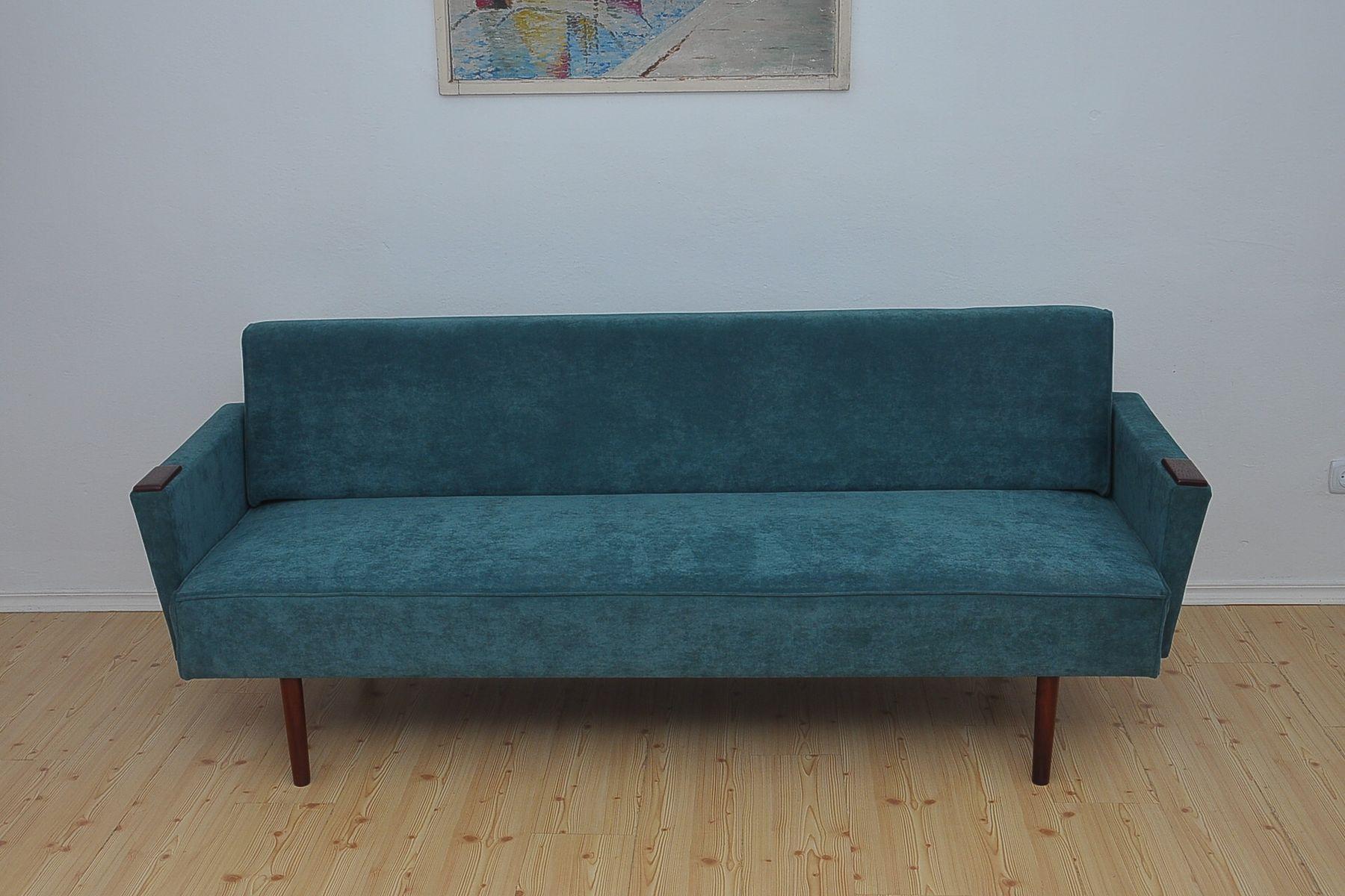 Dänisches Sofa oder Tagesbett, 1960er
