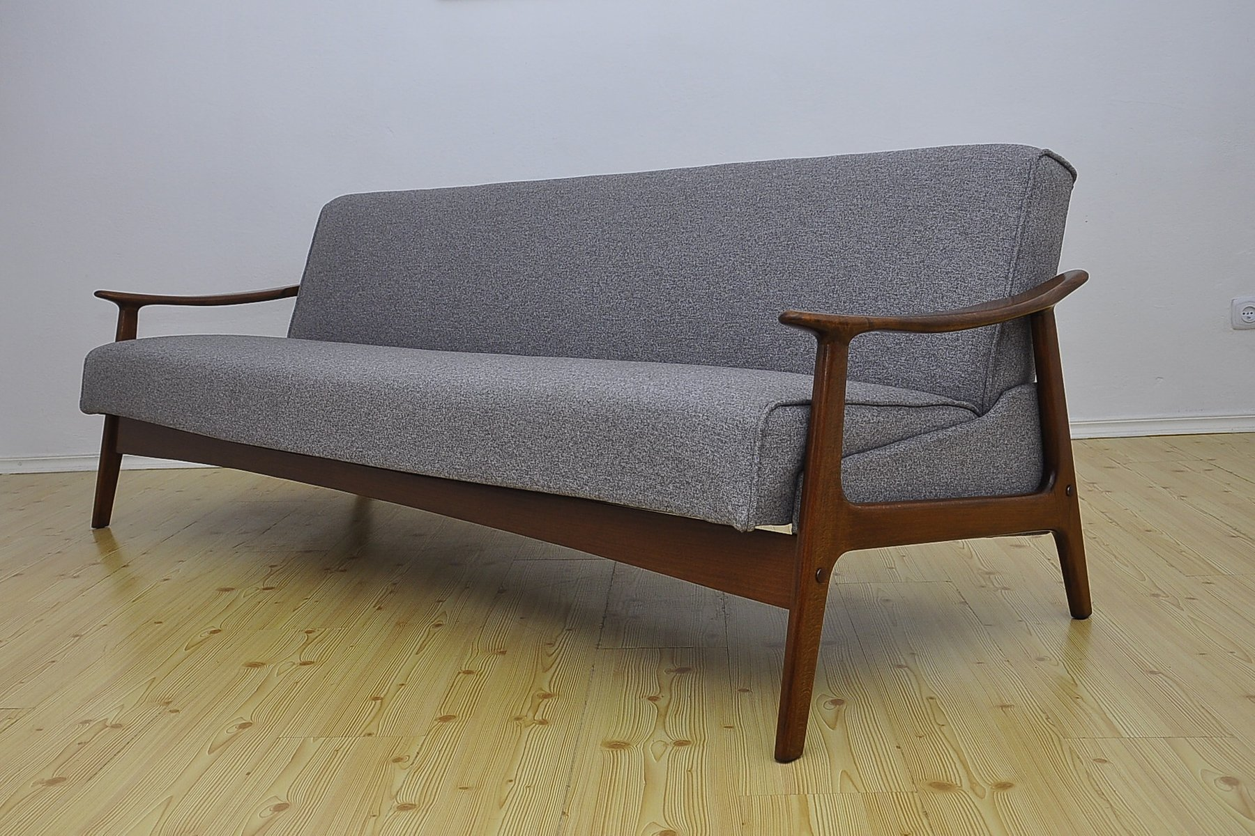 Mid Century Danish Sofa Bed 1960s