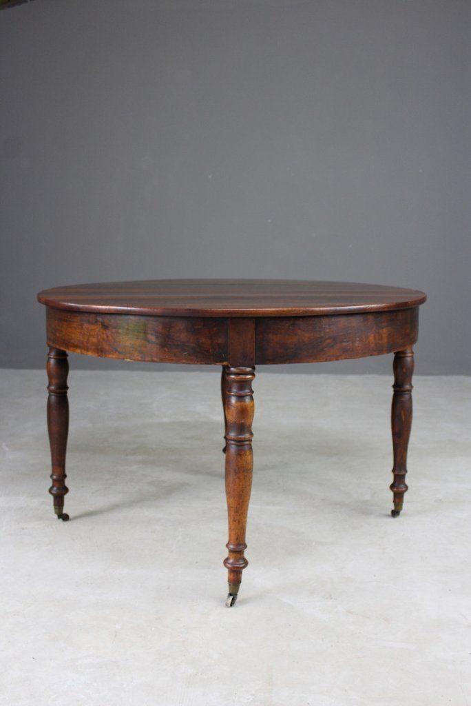 Antiker französischer ausziehbarer Tisch