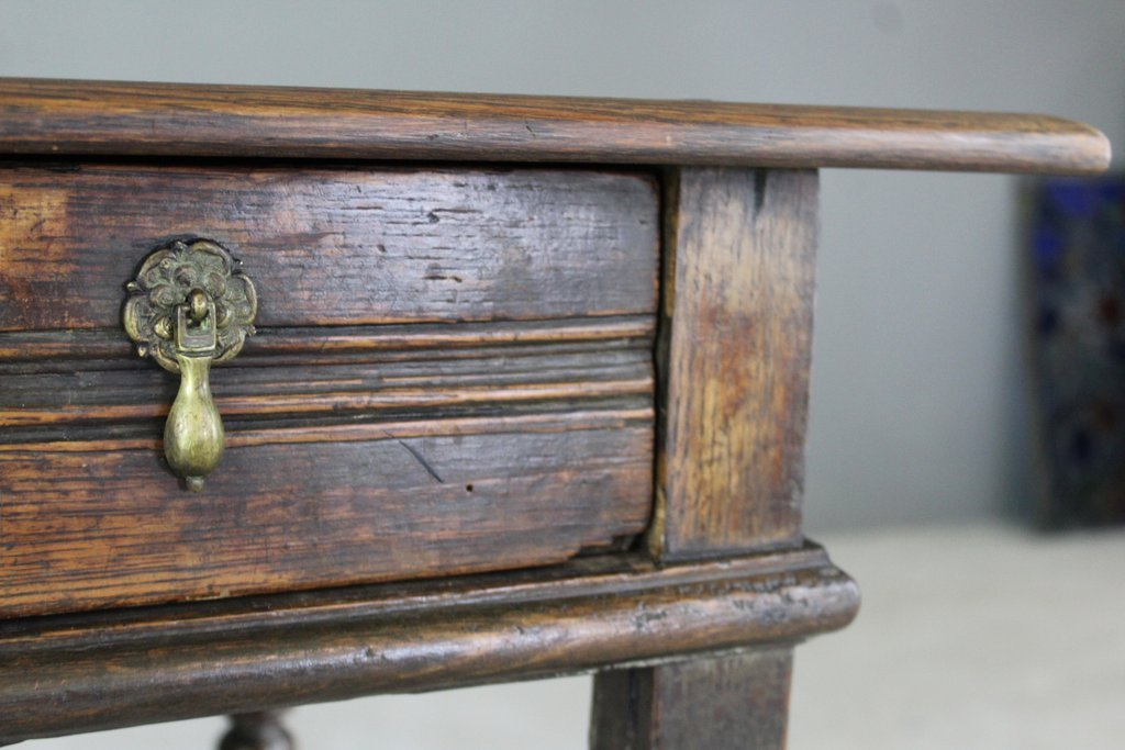 Antique Rustic Oak Side Table 10 752 00 Per Piece