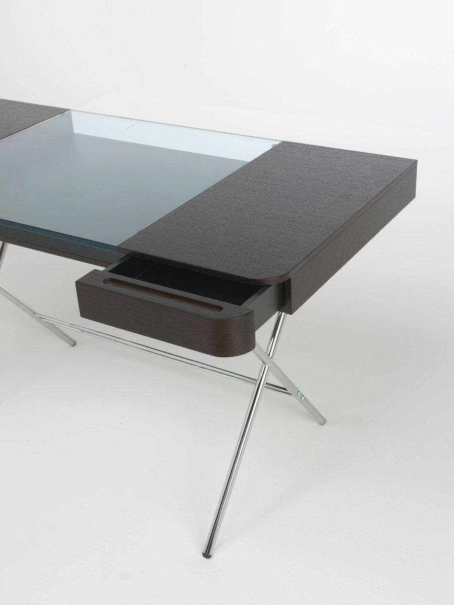 cosimo schreibtisch mit platte aus wenge gebeizter eiche. Black Bedroom Furniture Sets. Home Design Ideas