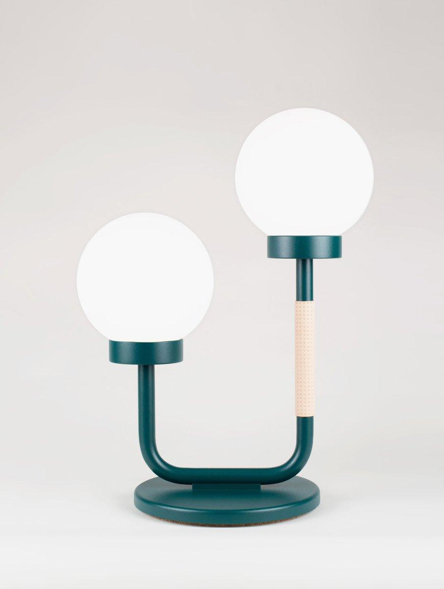Grüne Little Darling Tischlampe von Maria Gustavsson für Swedish Ninja