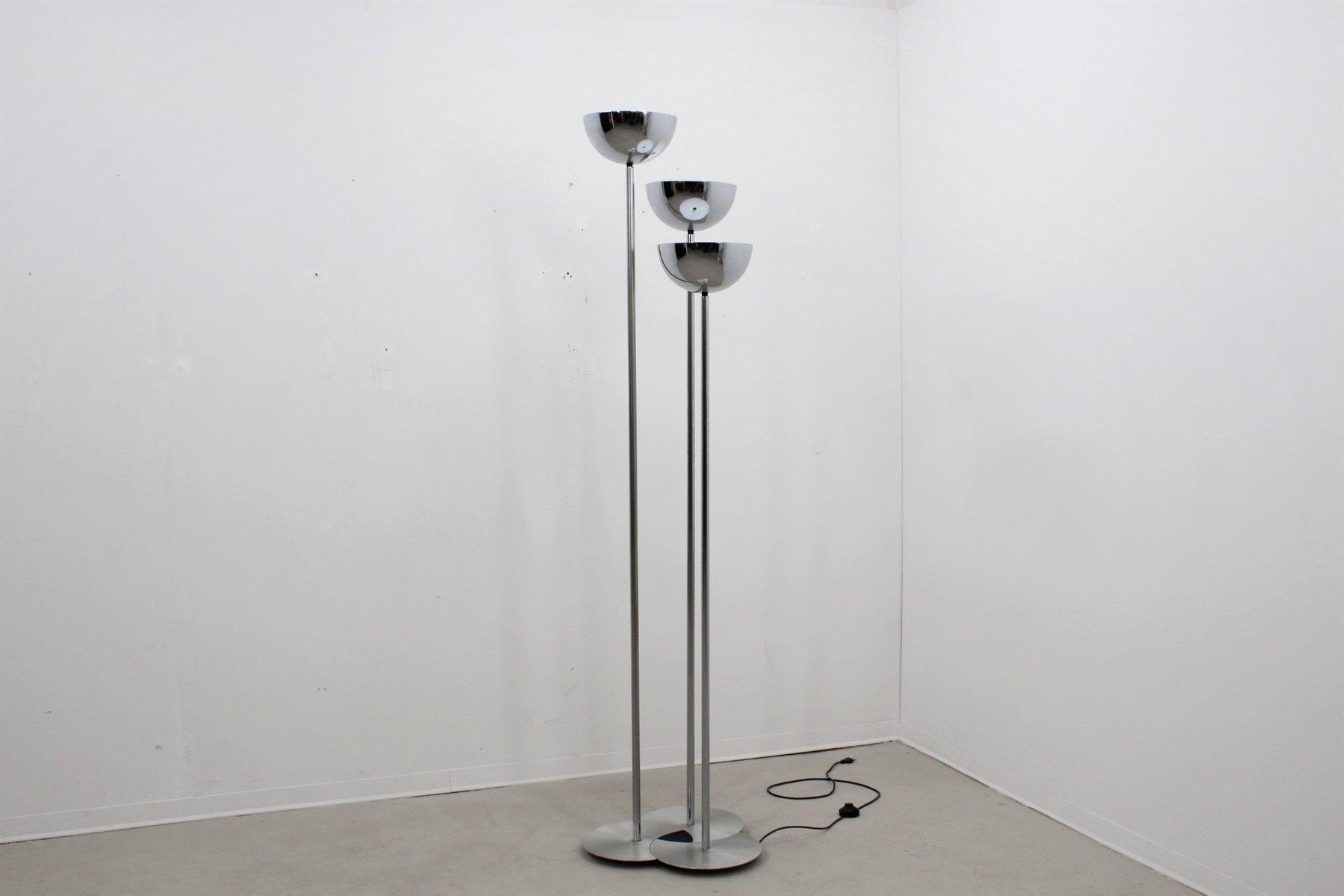 3-armige Vintage Stehlampe von Lamperti, 1970er