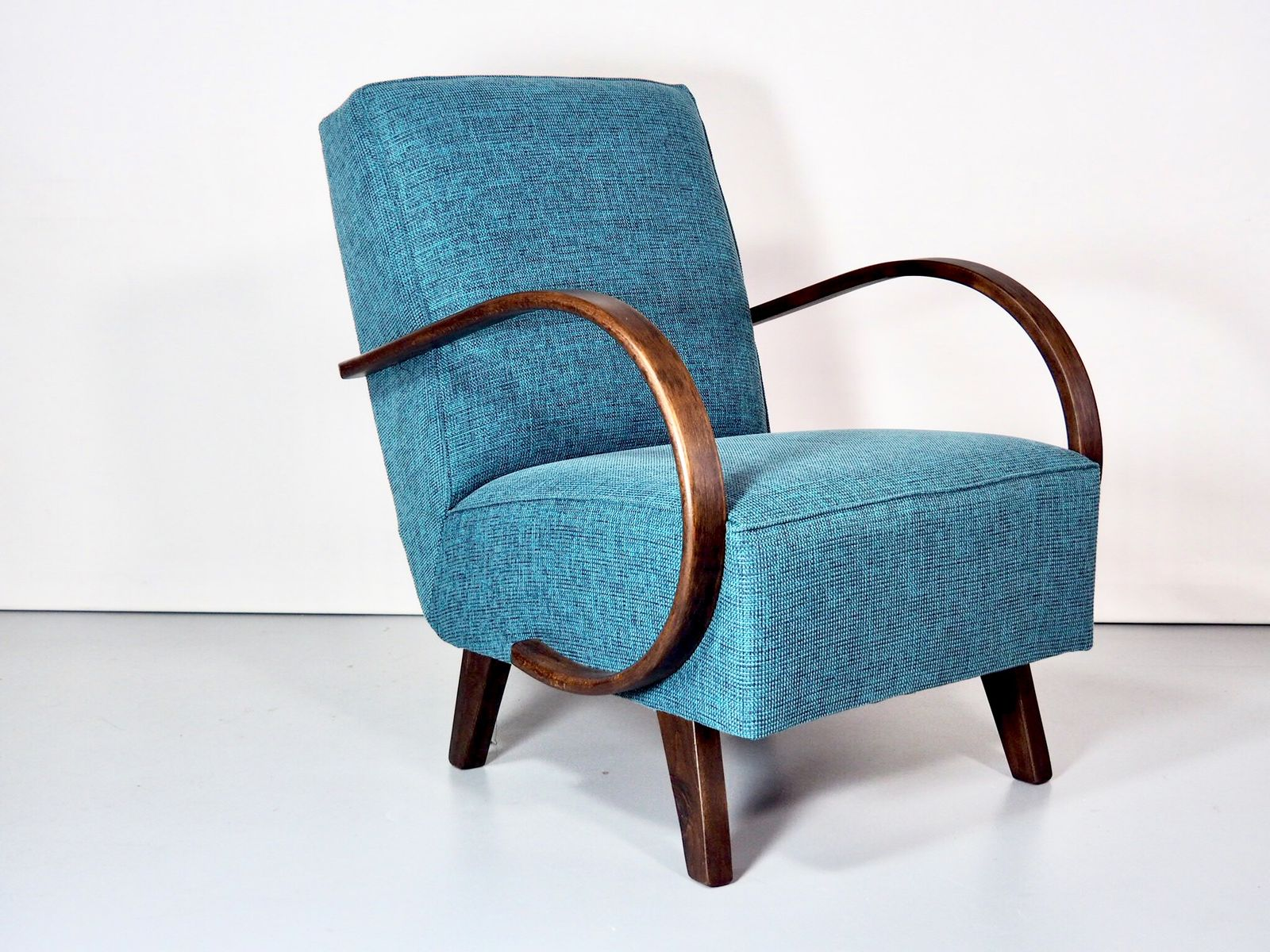 Art Deco Vintage Sessel von Jind?ich Halabala