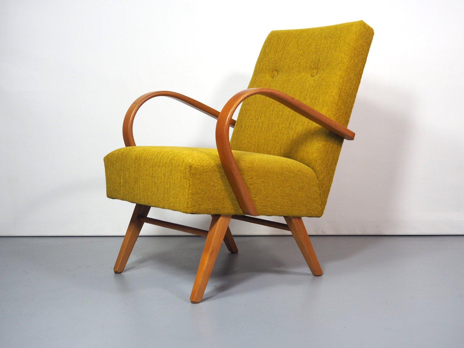 mid century sessel von jind ich halabala f r up z vody bei pamono kaufen. Black Bedroom Furniture Sets. Home Design Ideas