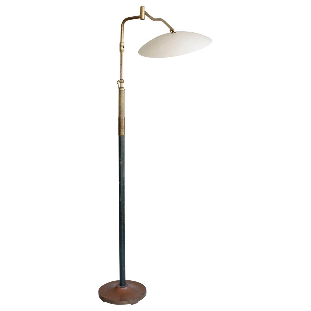 Große verlängerbare italienische Mid-Century Stehlampe