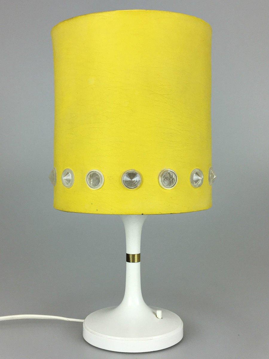 Deutsche Vintage Tischlampe aus Kunststoff von Erco