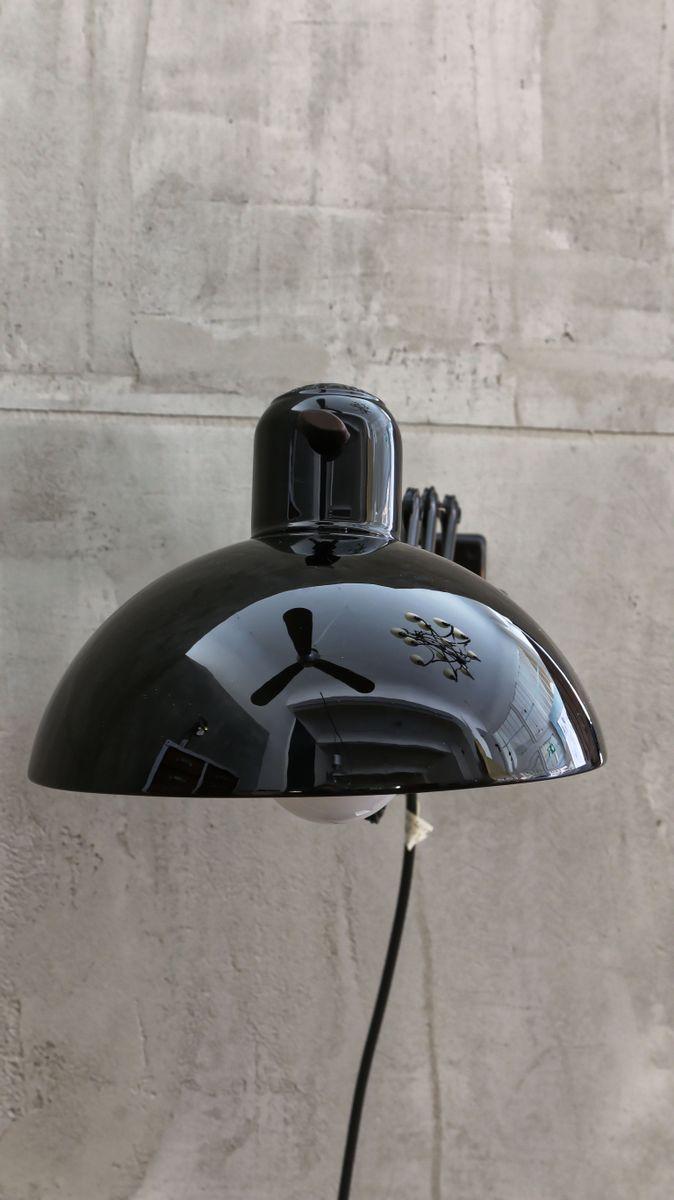 vintage 6718 scherenlampe von chistian dell f r kaiser idell bei pamono kaufen. Black Bedroom Furniture Sets. Home Design Ideas