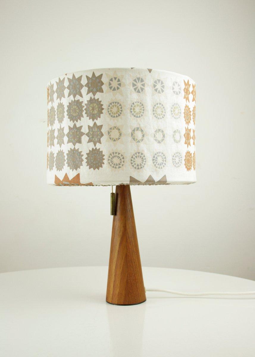 Mid-Century Nachttischlampe aus Teak, 1960er