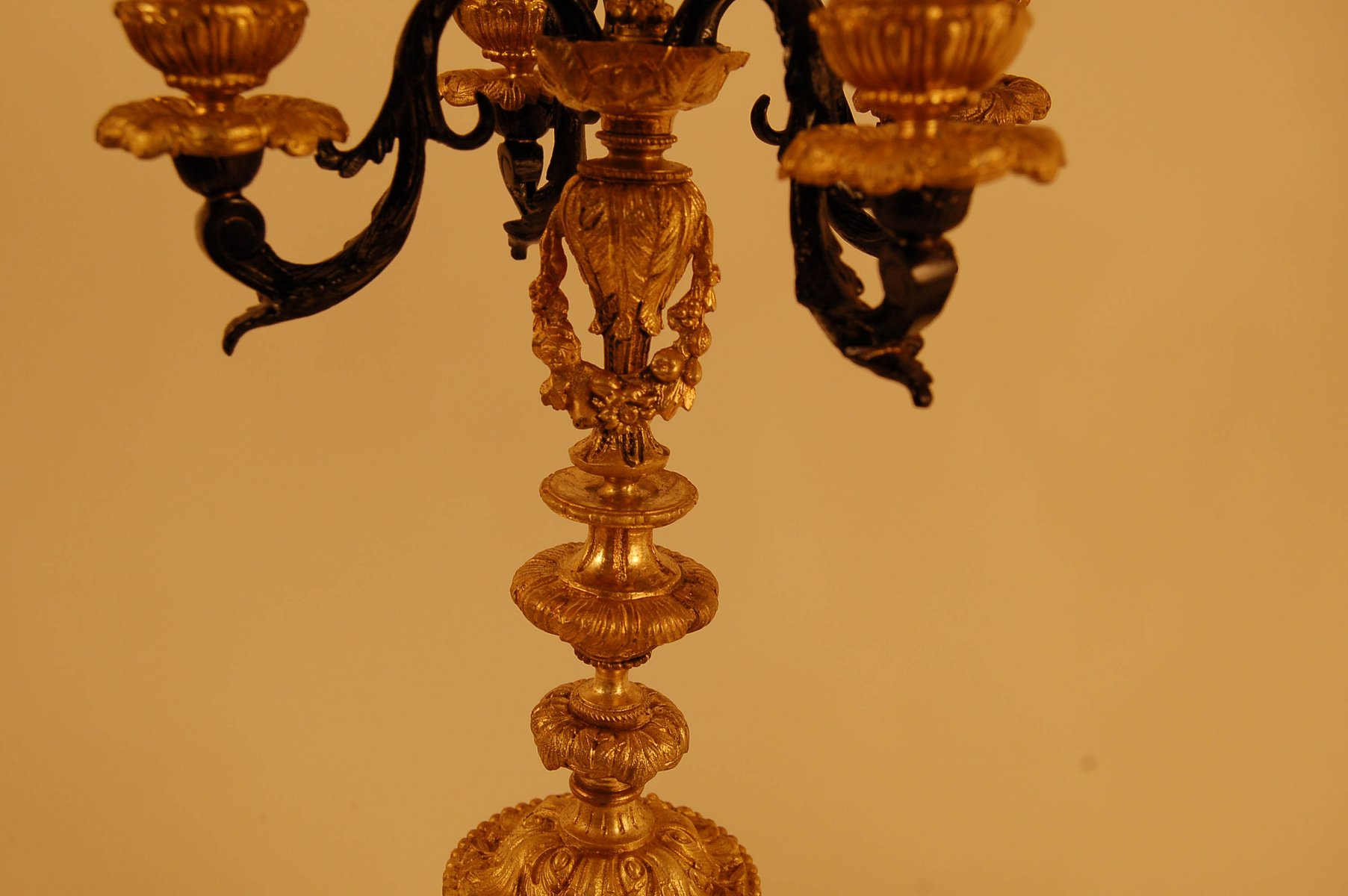 Kronleuchter Antik Porzellan ~ Antike kronleuchter aus bronze porzellan er set bei pamono kaufen