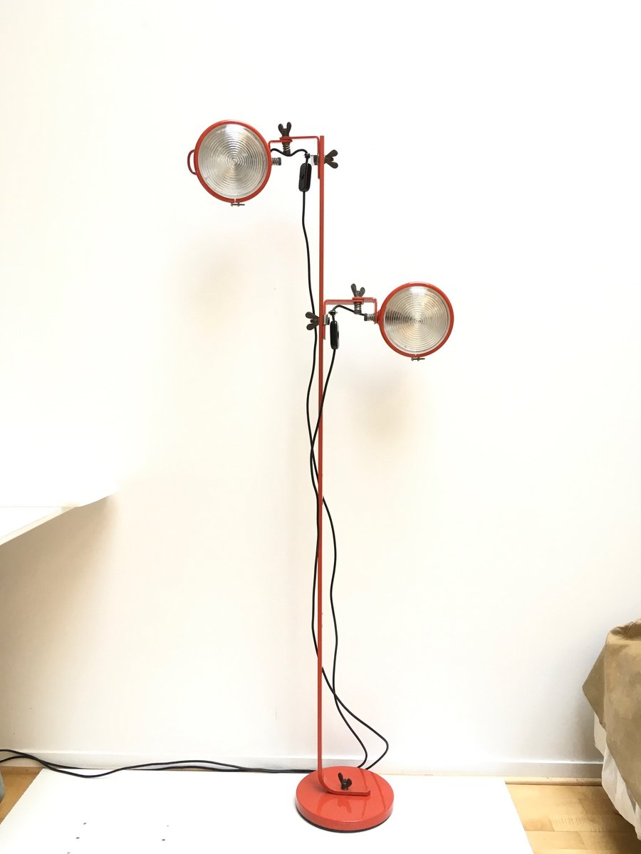 Stehlampe von Cesare Leonardi & Franca Stagi für Lumenform, 1969