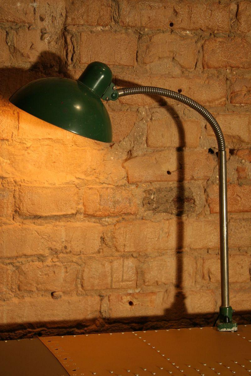 Typ 8740 Werkstattlampe von Christian Dell für Kaiser Idell