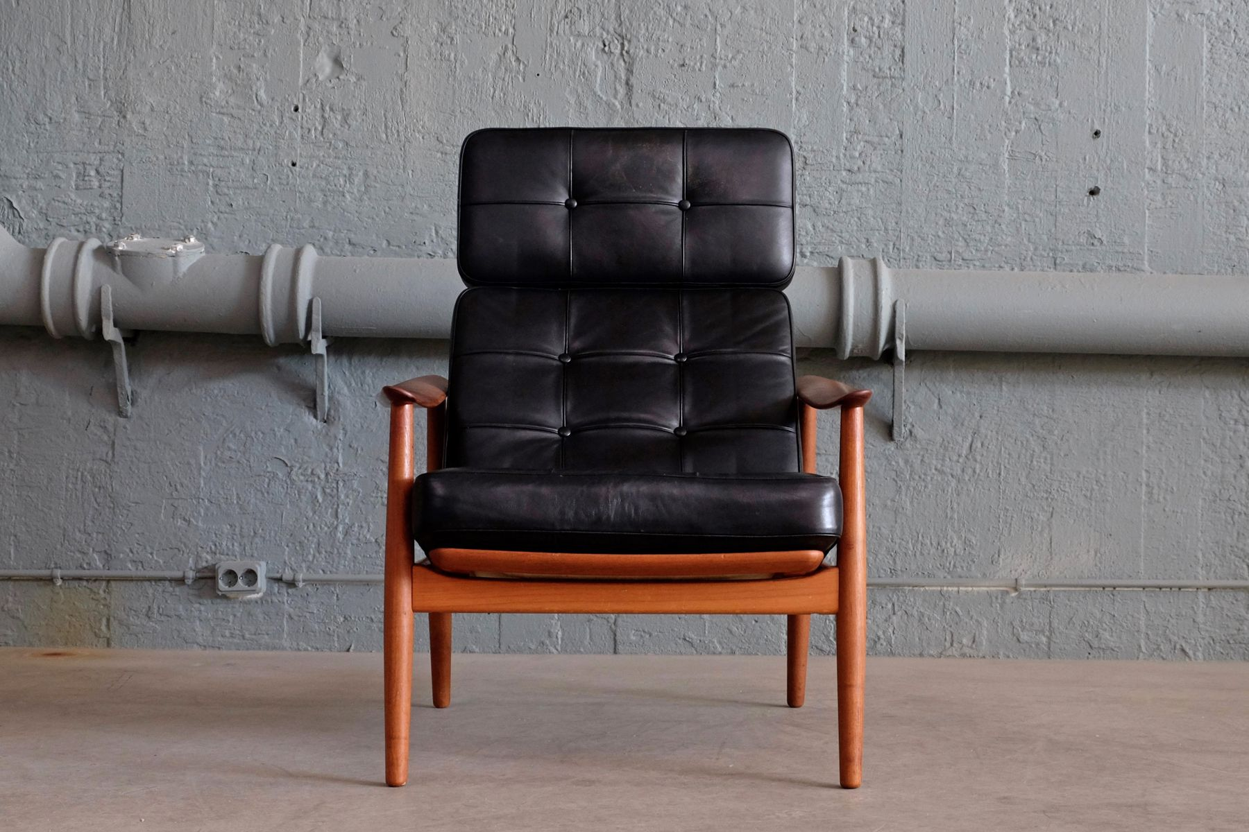Modell FD-164 Sessel von Arne Vodder für France & Son, 1960er