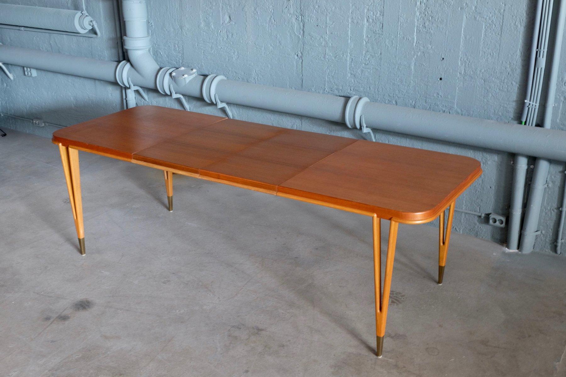 Tavolo da pranzo di bertil fridhagen per bodafors anni 60 in