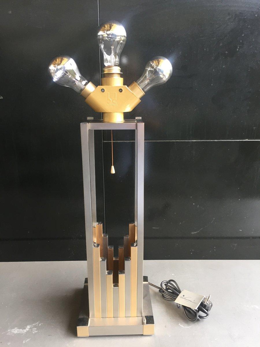 Tischlampe von B. D. Lumica, 1980er