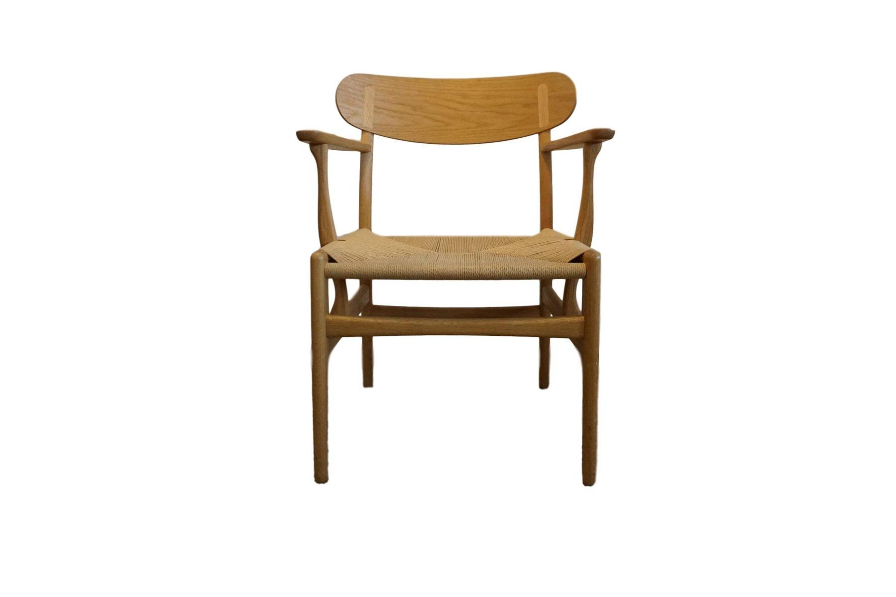 Mid-Century CH 22 Sessel von Hans Wegner für Carl Hansen & Søn