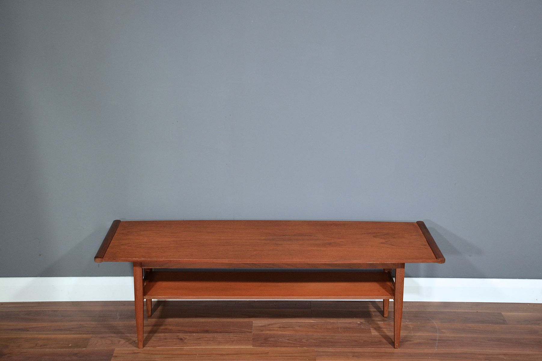 British TwoTier Coffee Table In Teak From Myer S For Sale At - Two level coffee table