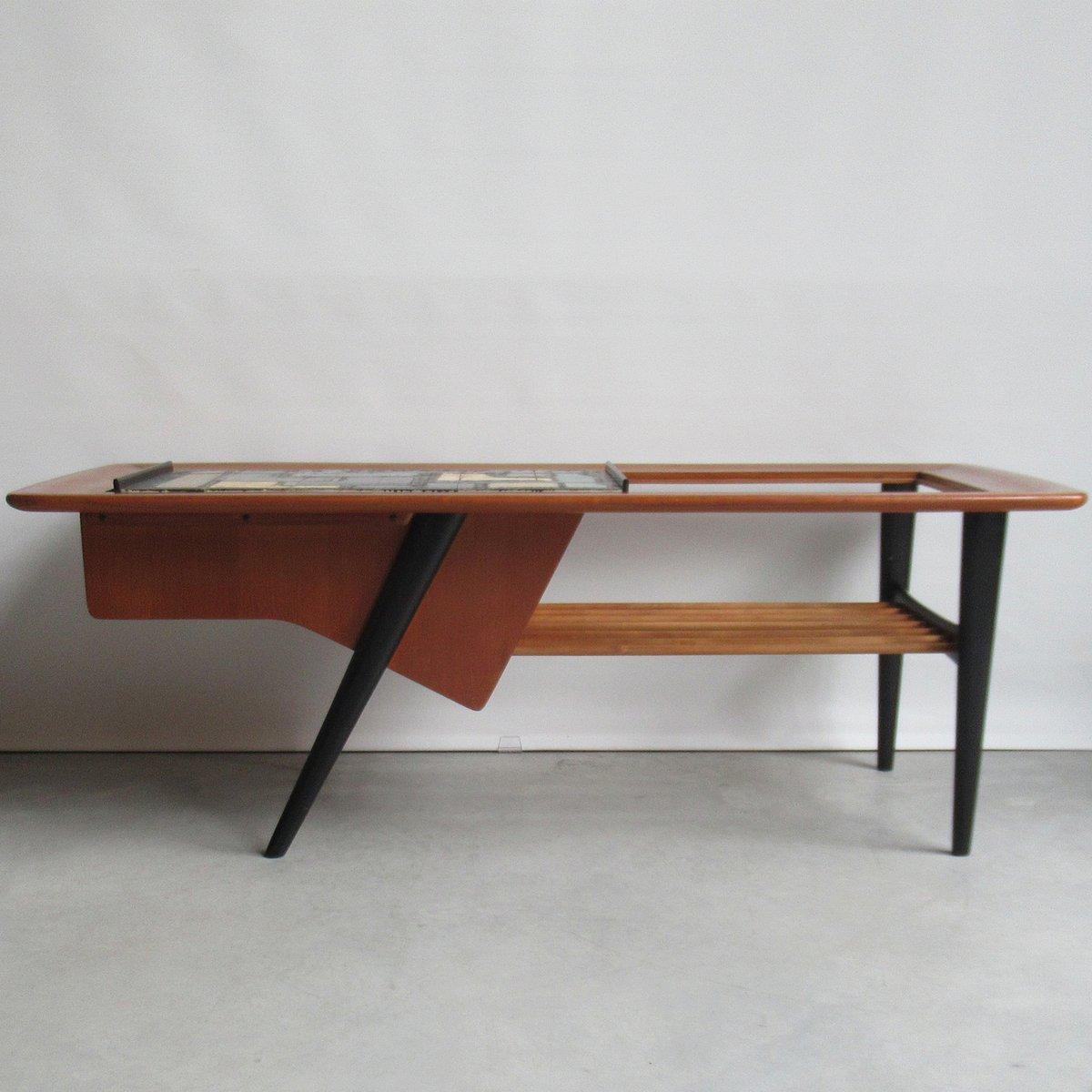 Modell 210 Couchtisch von Alfred Hendrickx für Belform, 1950er