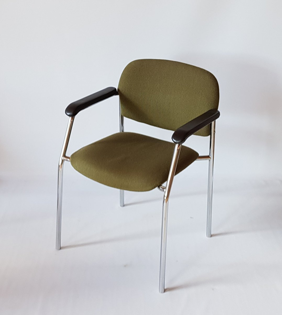 chaise verte de drabert 1970s - Chaise Verte