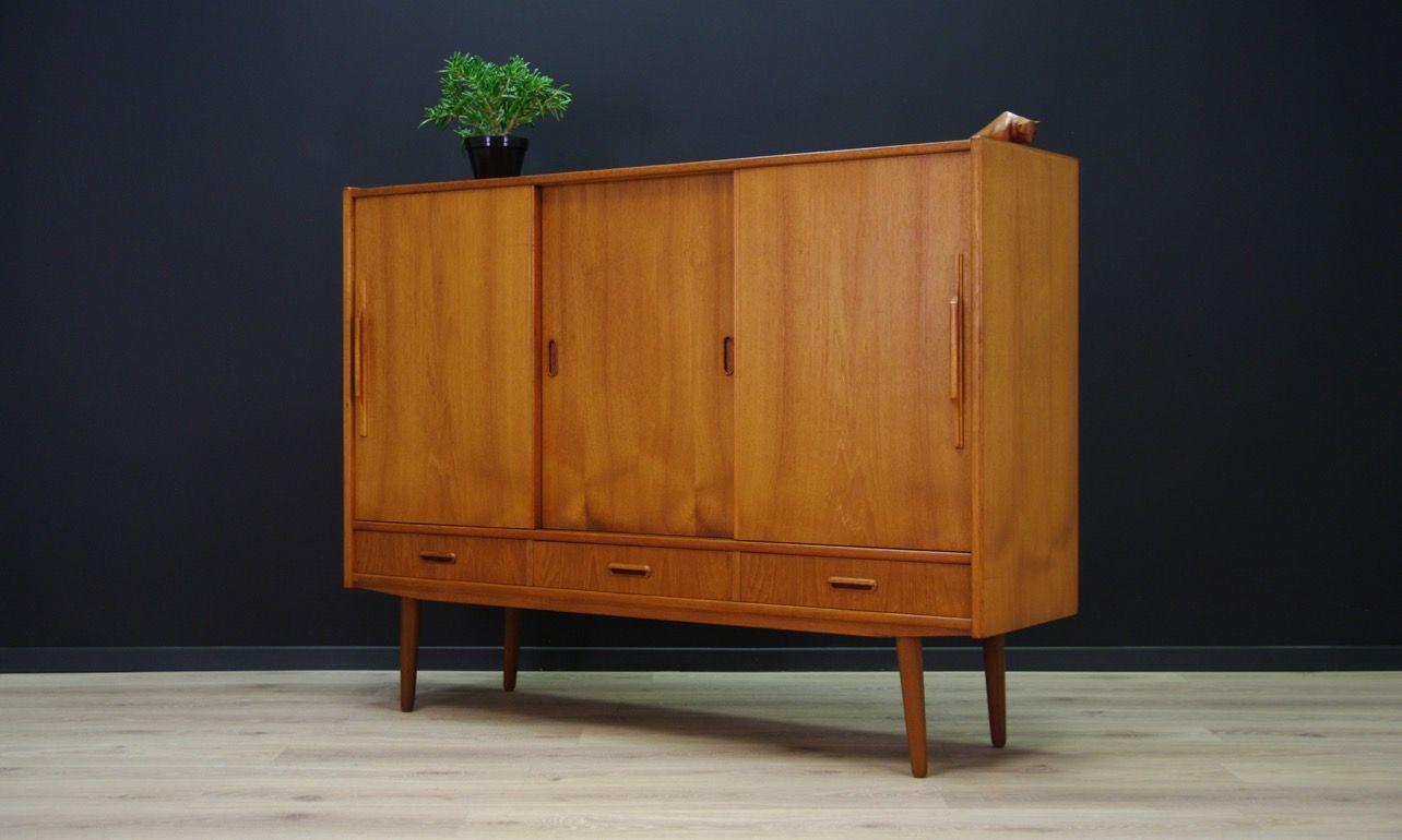 D nisches sideboard aus teak 1960er bei pamono kaufen for Sideboard danisches design