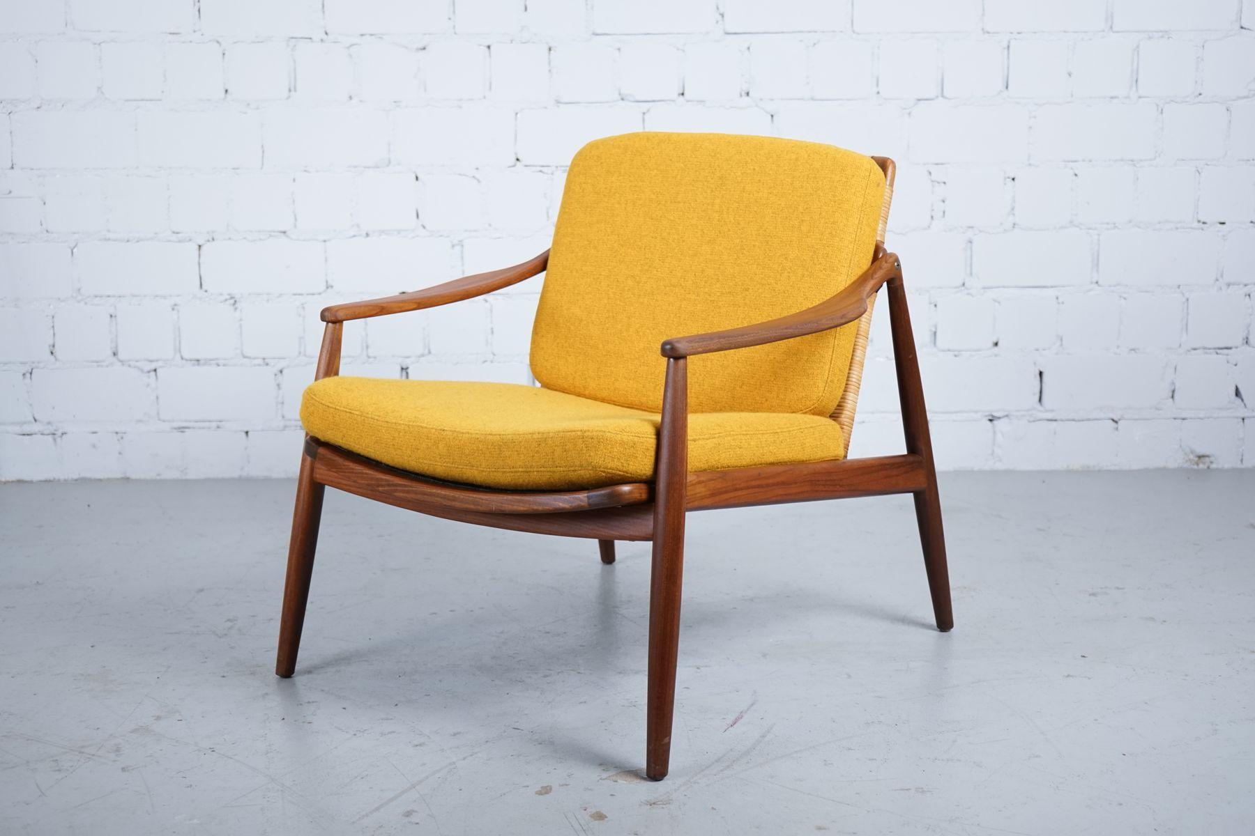 Deutscher Mid-Century Sessel von Hartmut Lohmeyer für Wilkhahn, 1950er