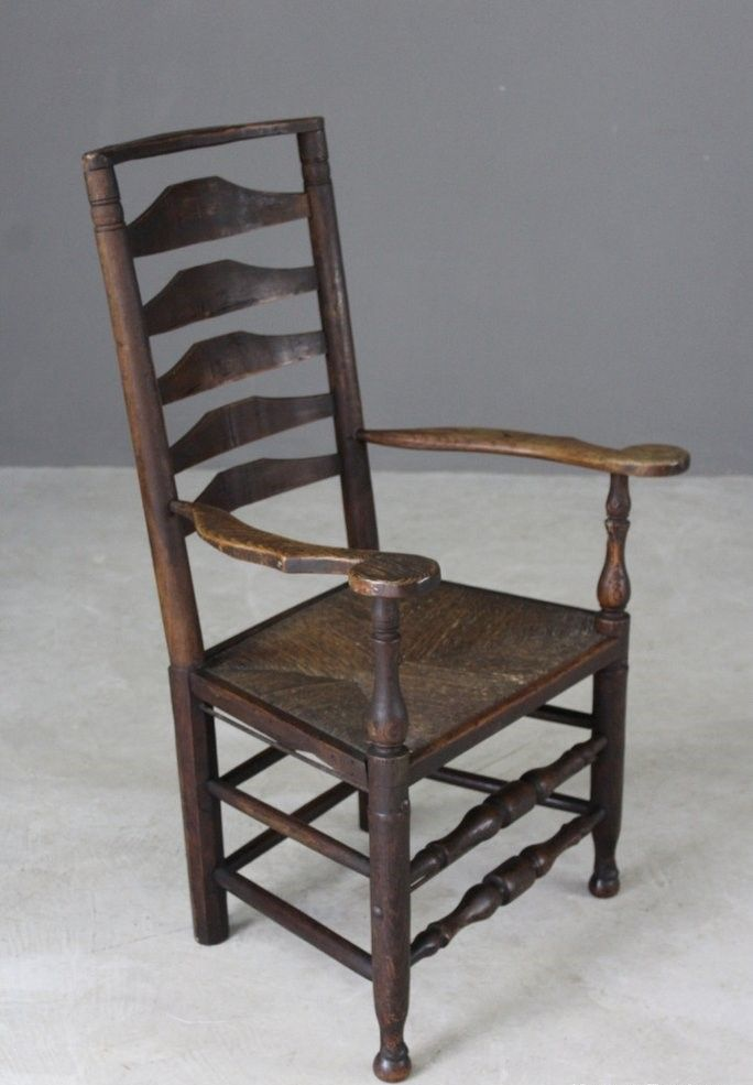 Antique Oak & Elm Ladderback Chair 12. $420.00. Price per piece - Antique Oak & Elm Ladderback Chair For Sale At Pamono
