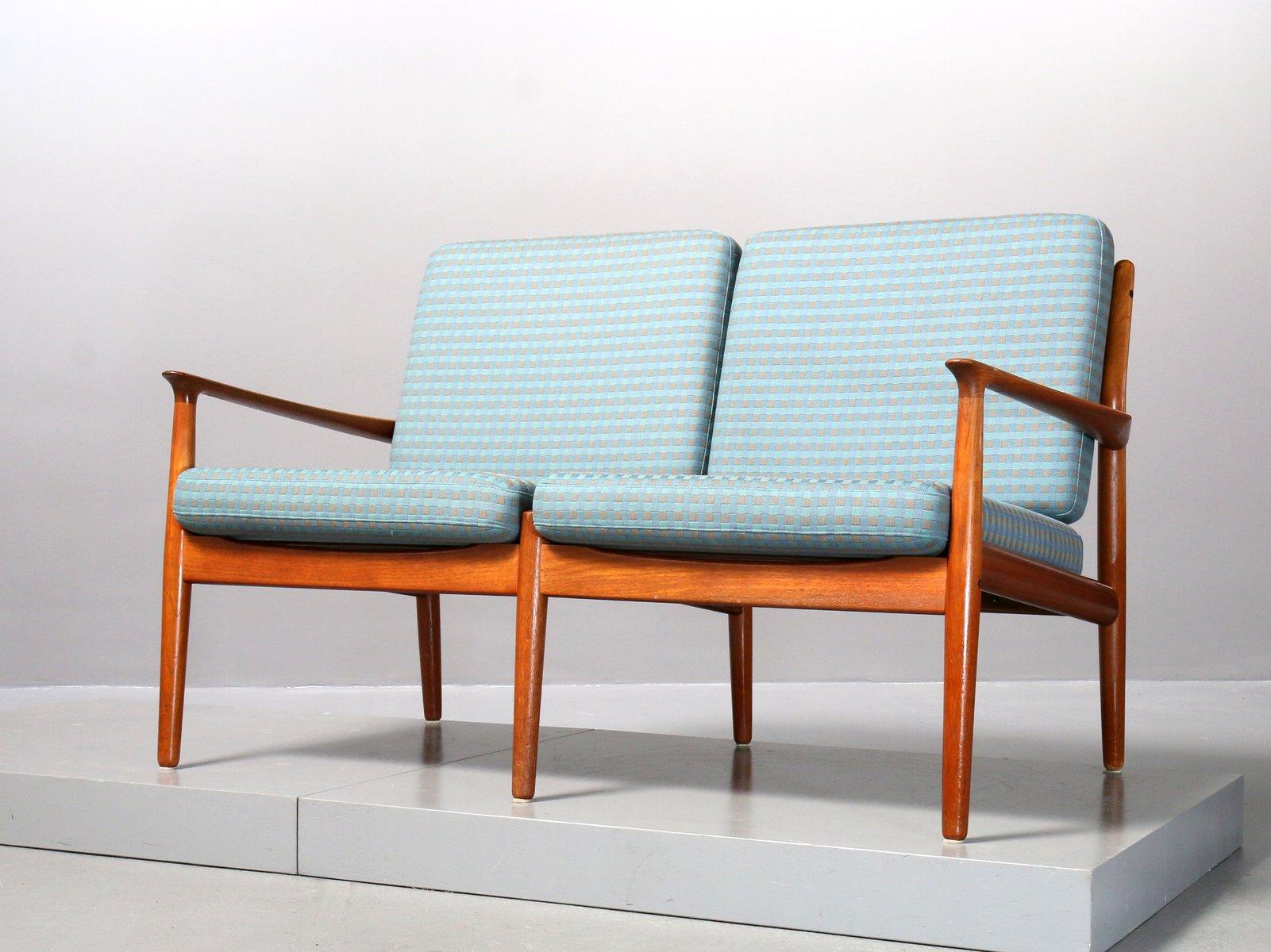 Vintage Modell GM 5 2-Sitzer Sofa von Svend Age Eriksen für Glostrup