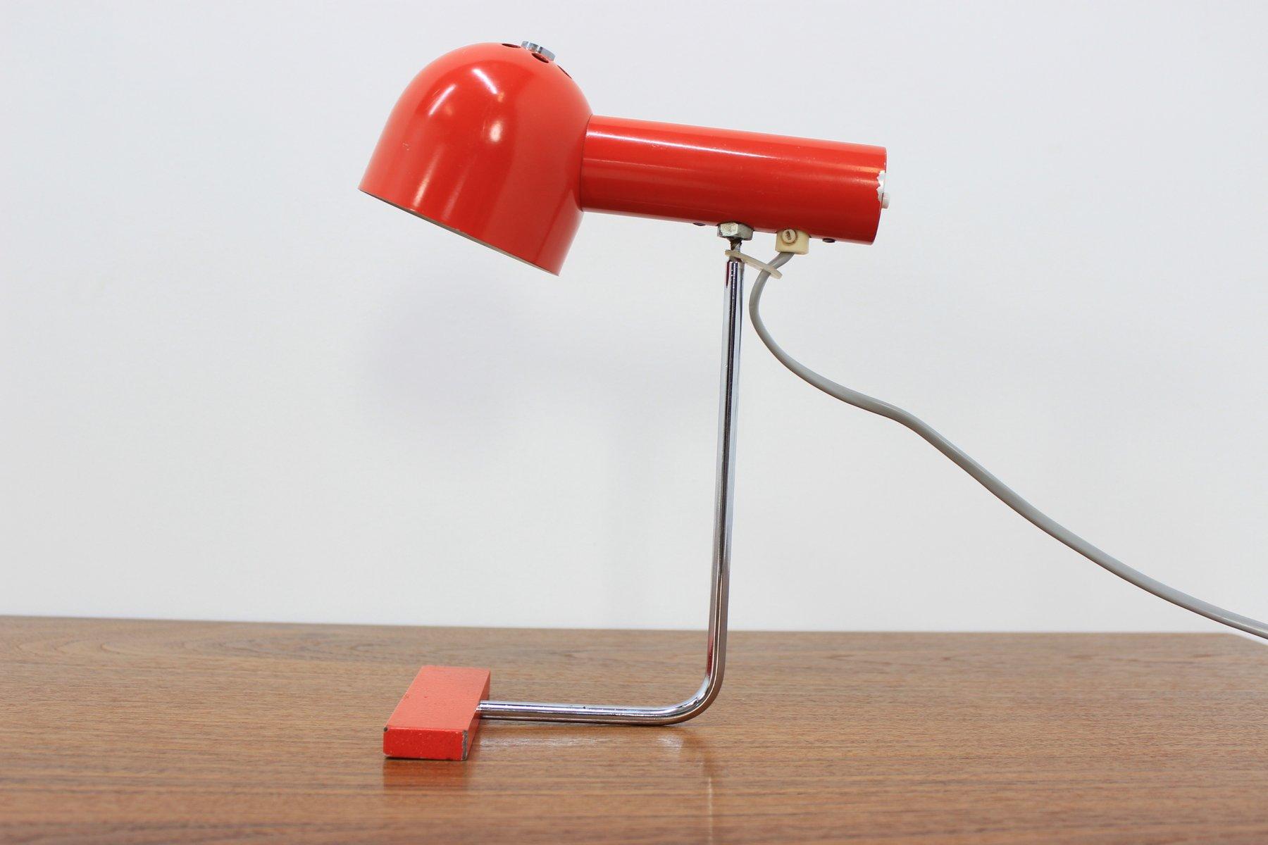 Mid-Century Tischlampe von Josef H?rka für Napako