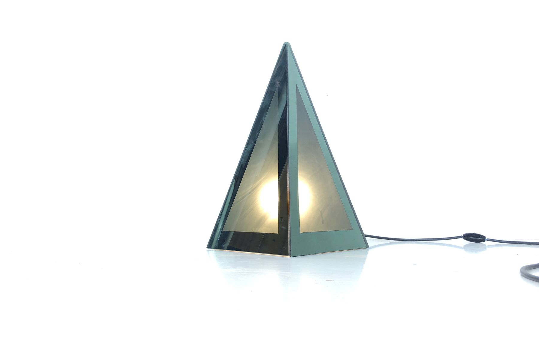 Cronotopo Tischlampe von Nanda Vigo, 1960er