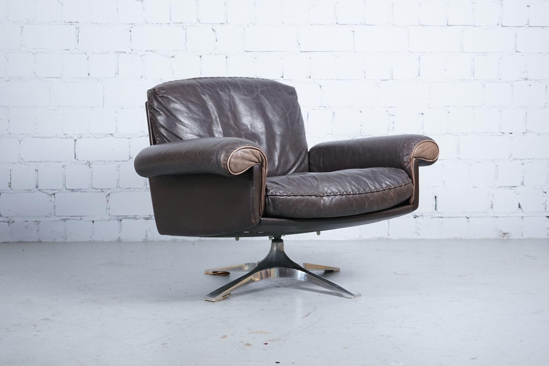 vintage ds 31 sessel von de sede 1970er 2er set bei pamono kaufen. Black Bedroom Furniture Sets. Home Design Ideas