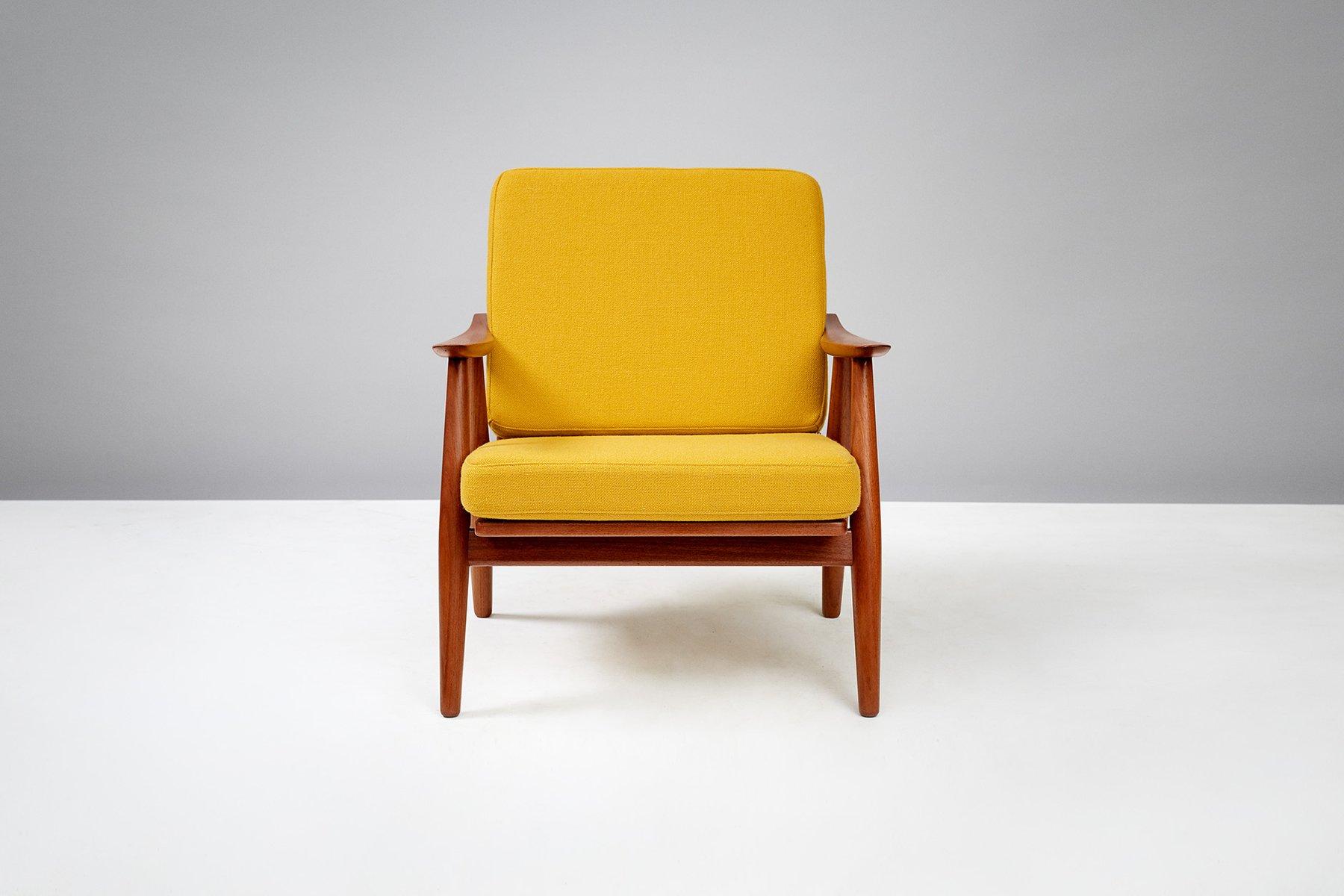 vintage ge 270 sessel von hans j wegner haustechnik thiel. Black Bedroom Furniture Sets. Home Design Ideas